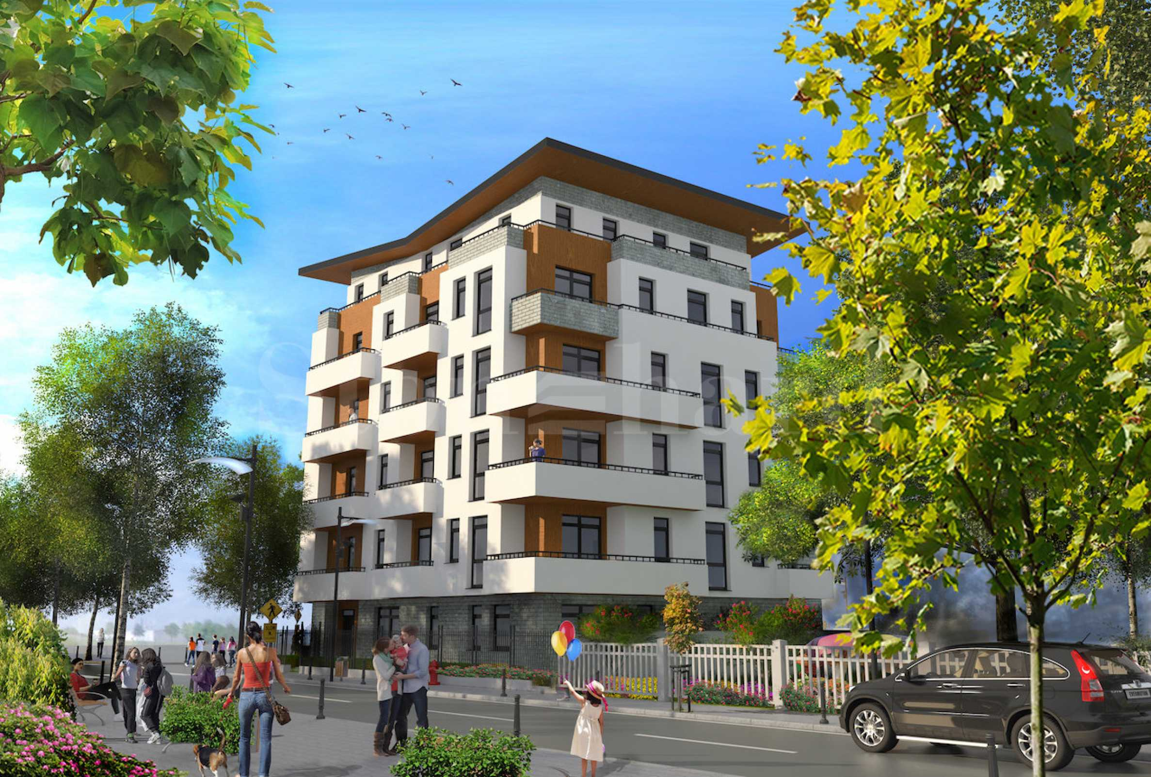 Adria residence - boutique building near mall, South park and metro station1 - Stonehard