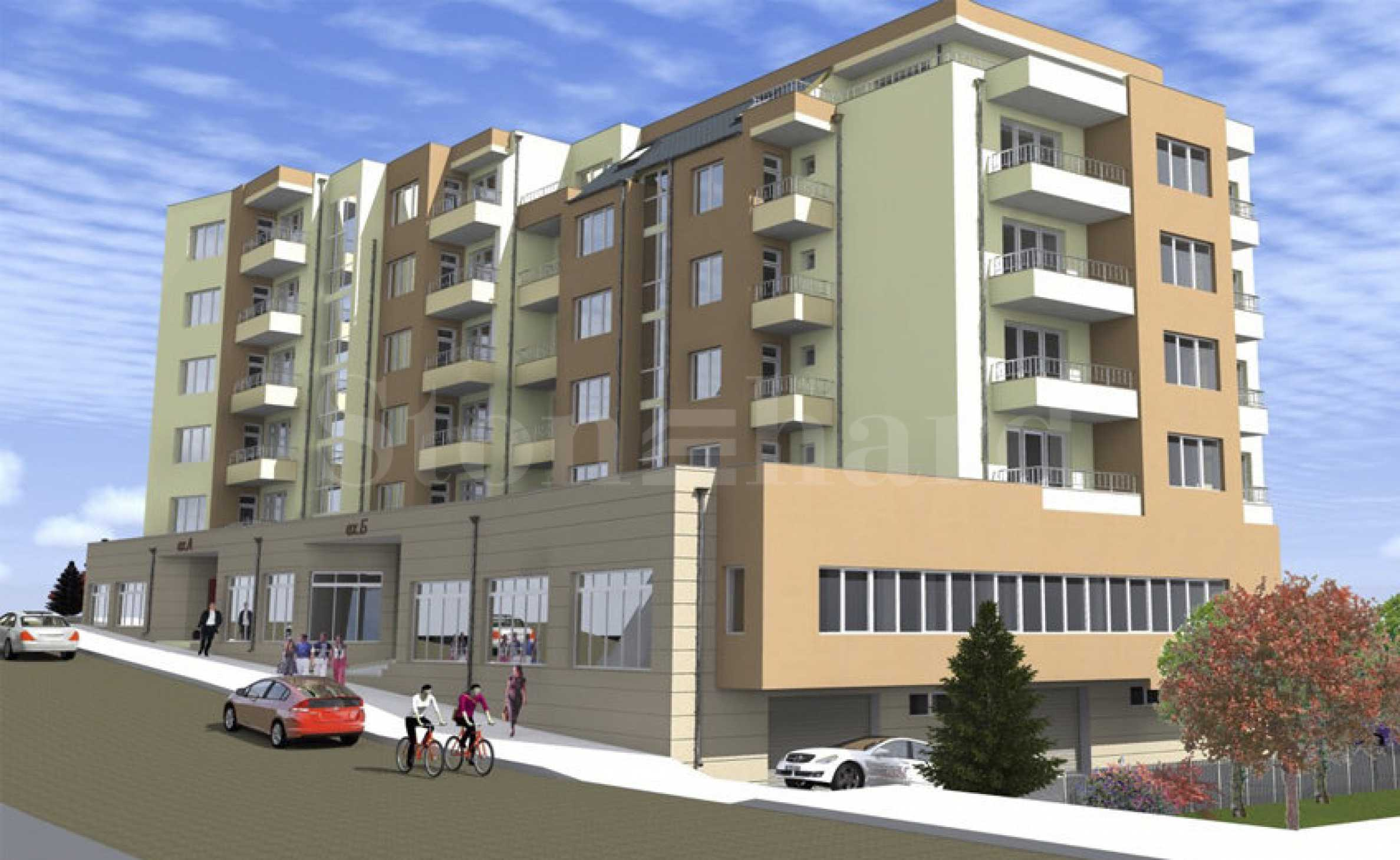 Apartments in a new residential building in the neighborhood of Meden Rudnik in Burgas1 - Stonehard