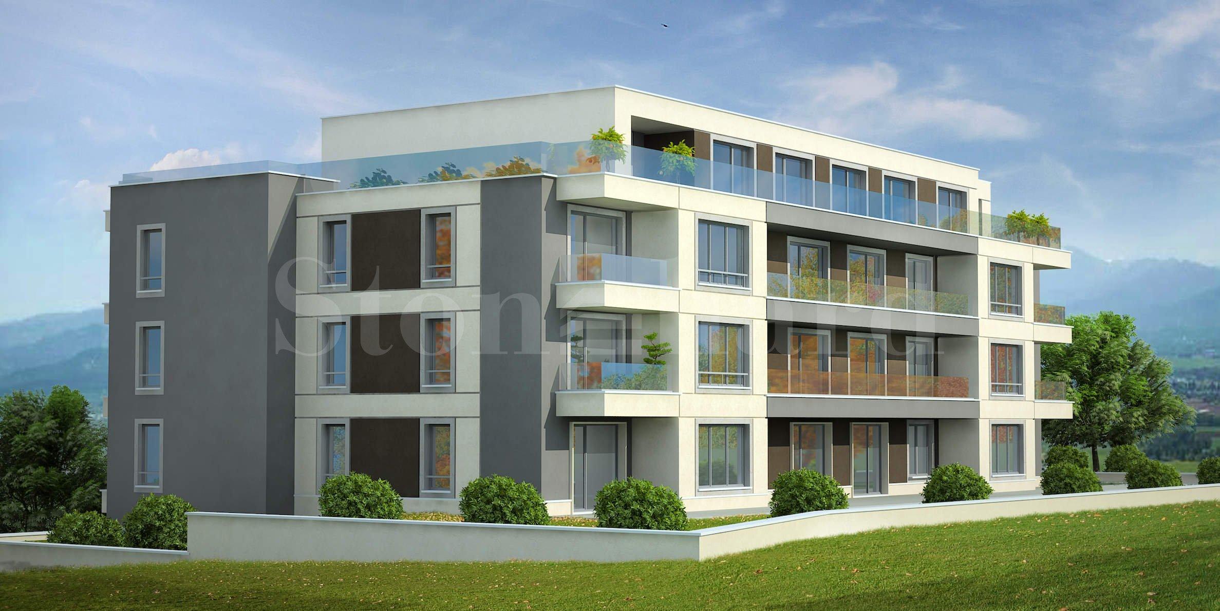Новострояща се сграда с апартаменти в полите на Витоша, кв.