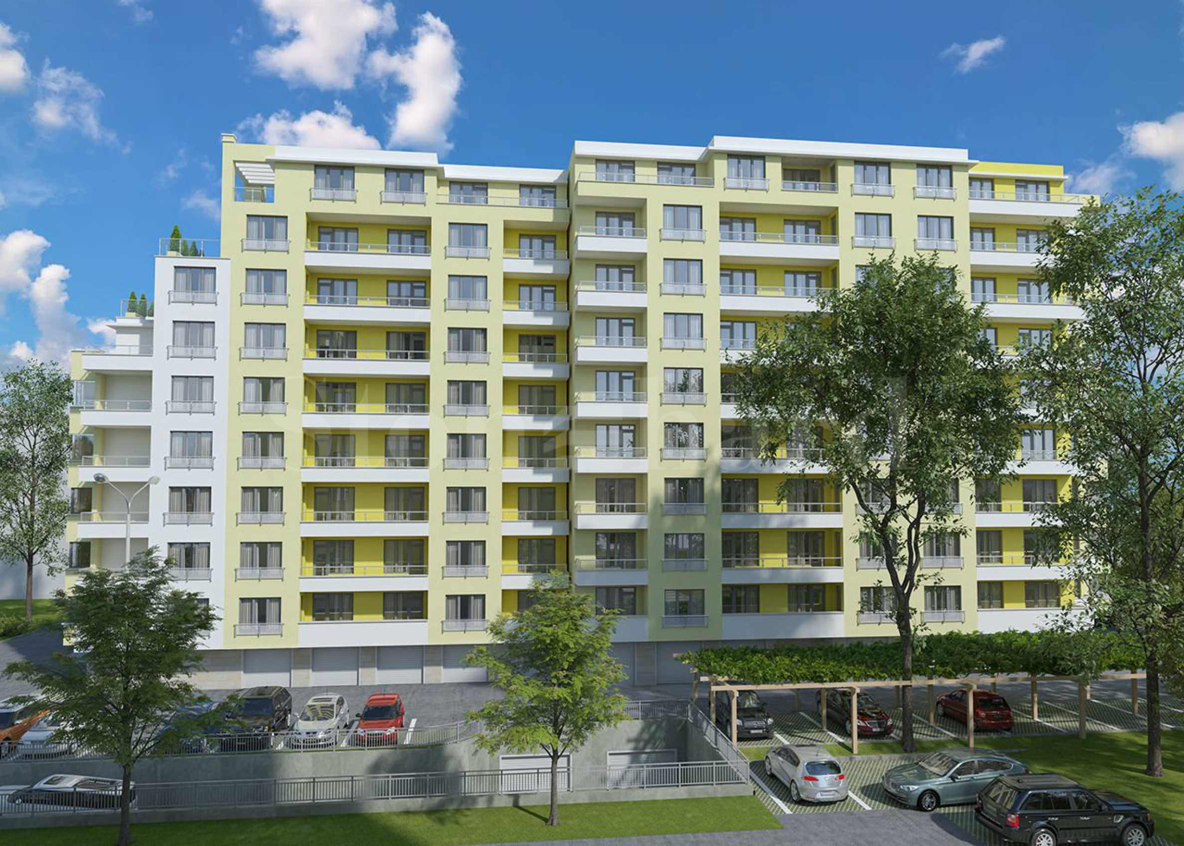 Two new residential buildings with apartments and garages in the very center of Varna1 - Stonehard