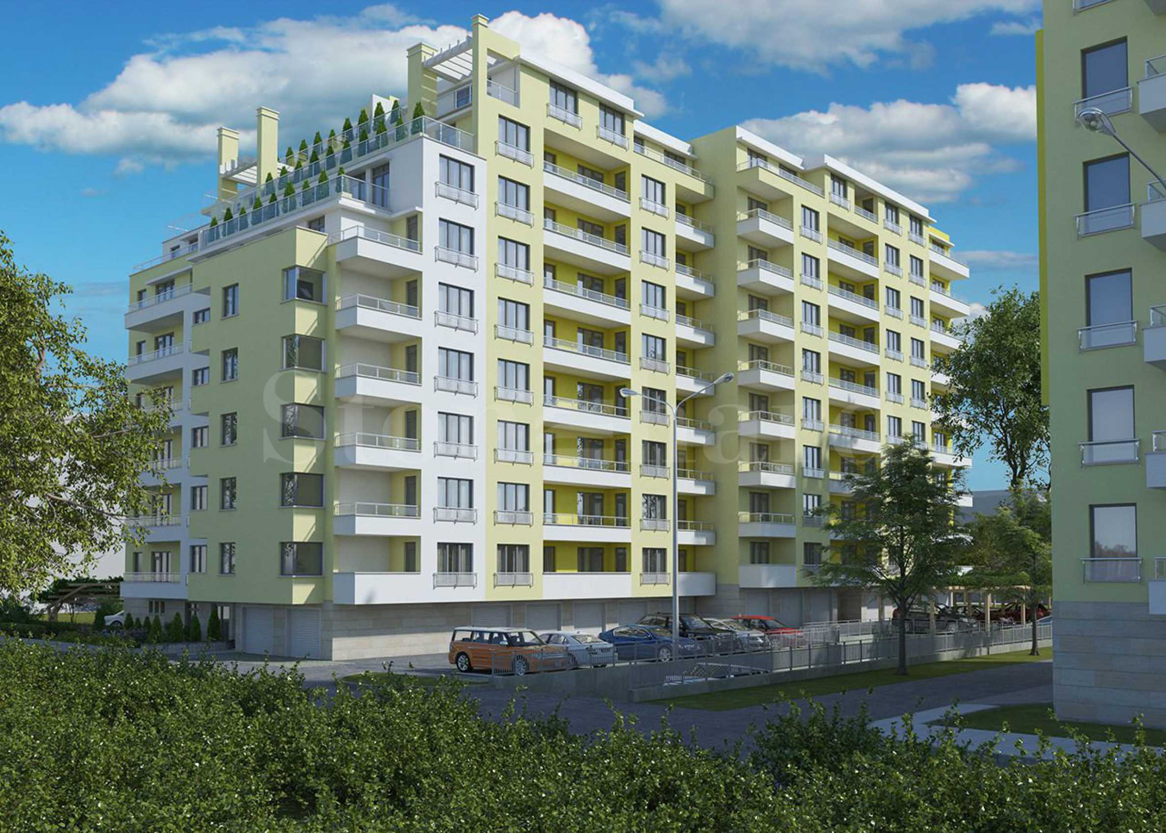 Two new residential buildings with apartments and garages in the very center of Varna2 - Stonehard