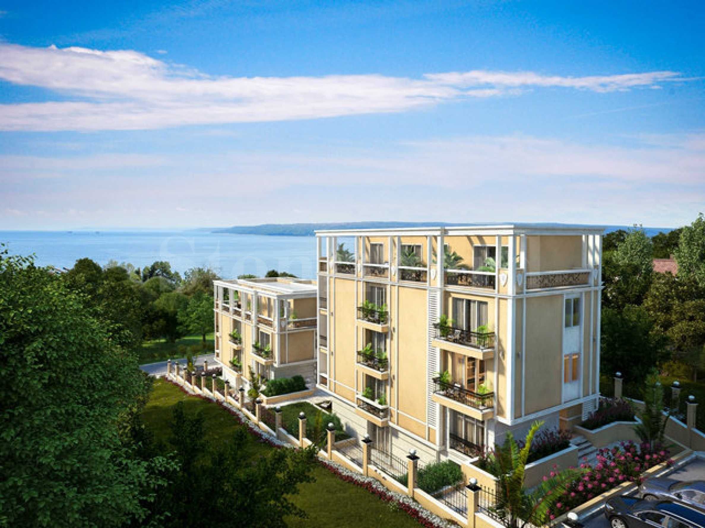 Апартаменти в разкошен нов комплекс до резиденция Евксиноград2 - Stonehard