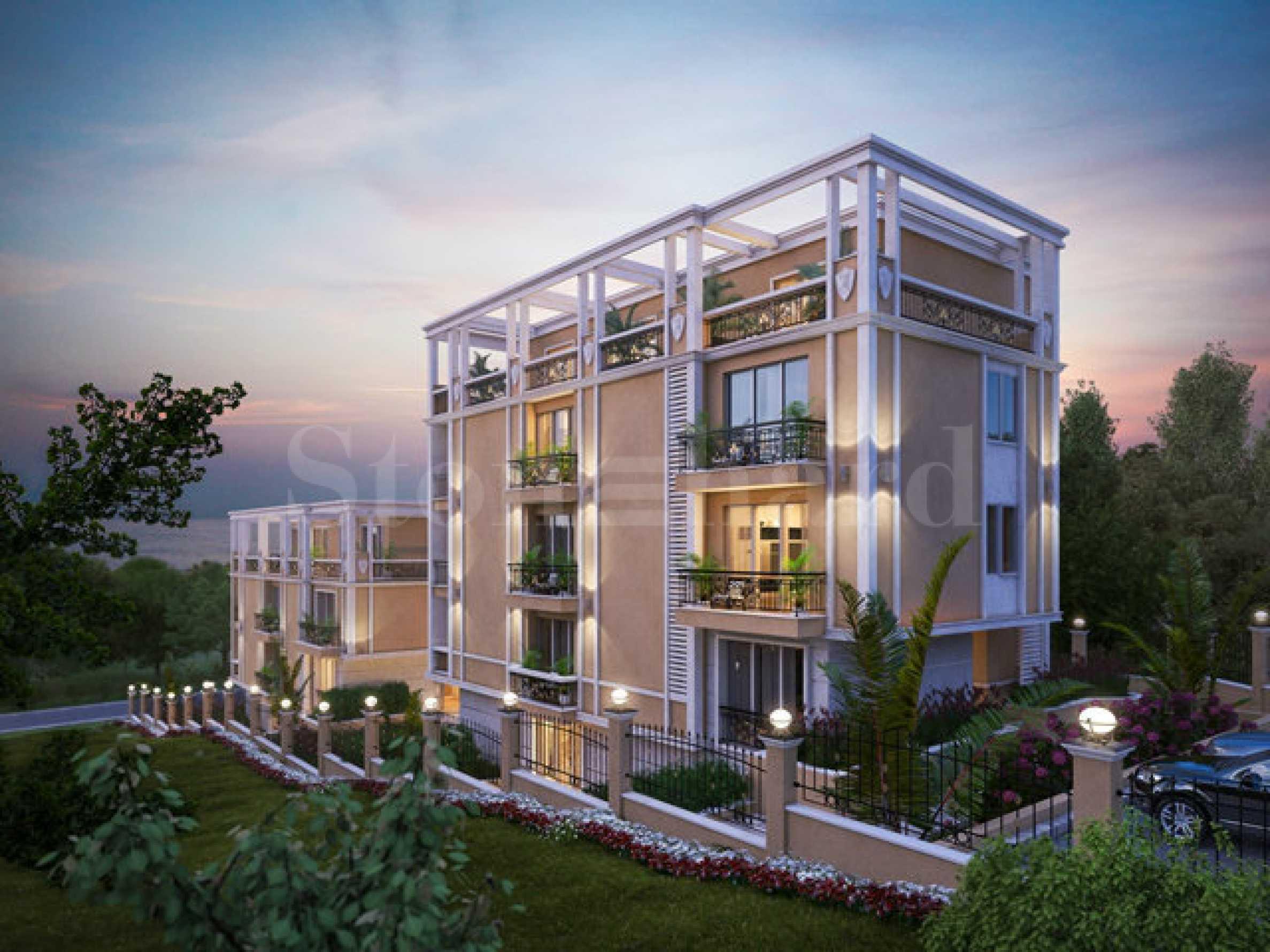 Апартаменти в разкошен нов комплекс до резиденция Евксиноград1 - Stonehard