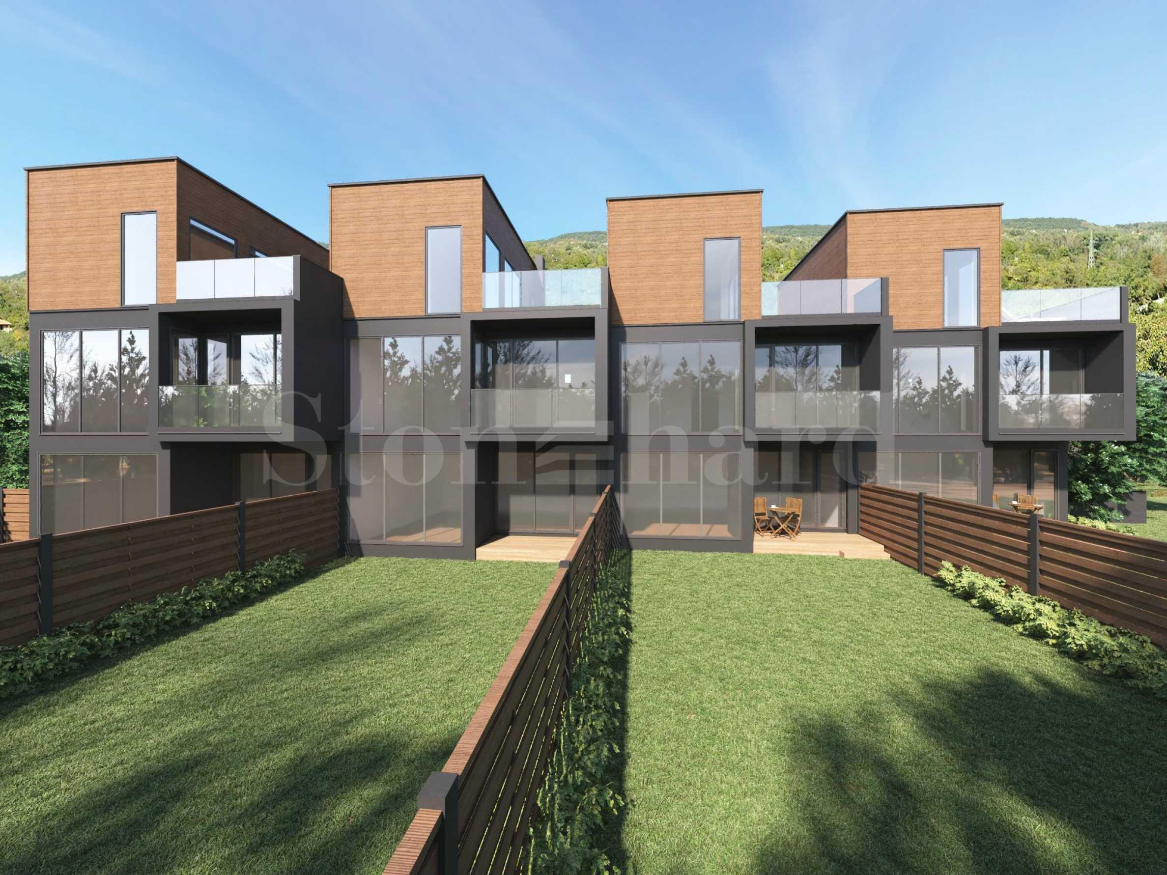 Къща на три етажа с три спални и панорамна тераса1 - Stonehard