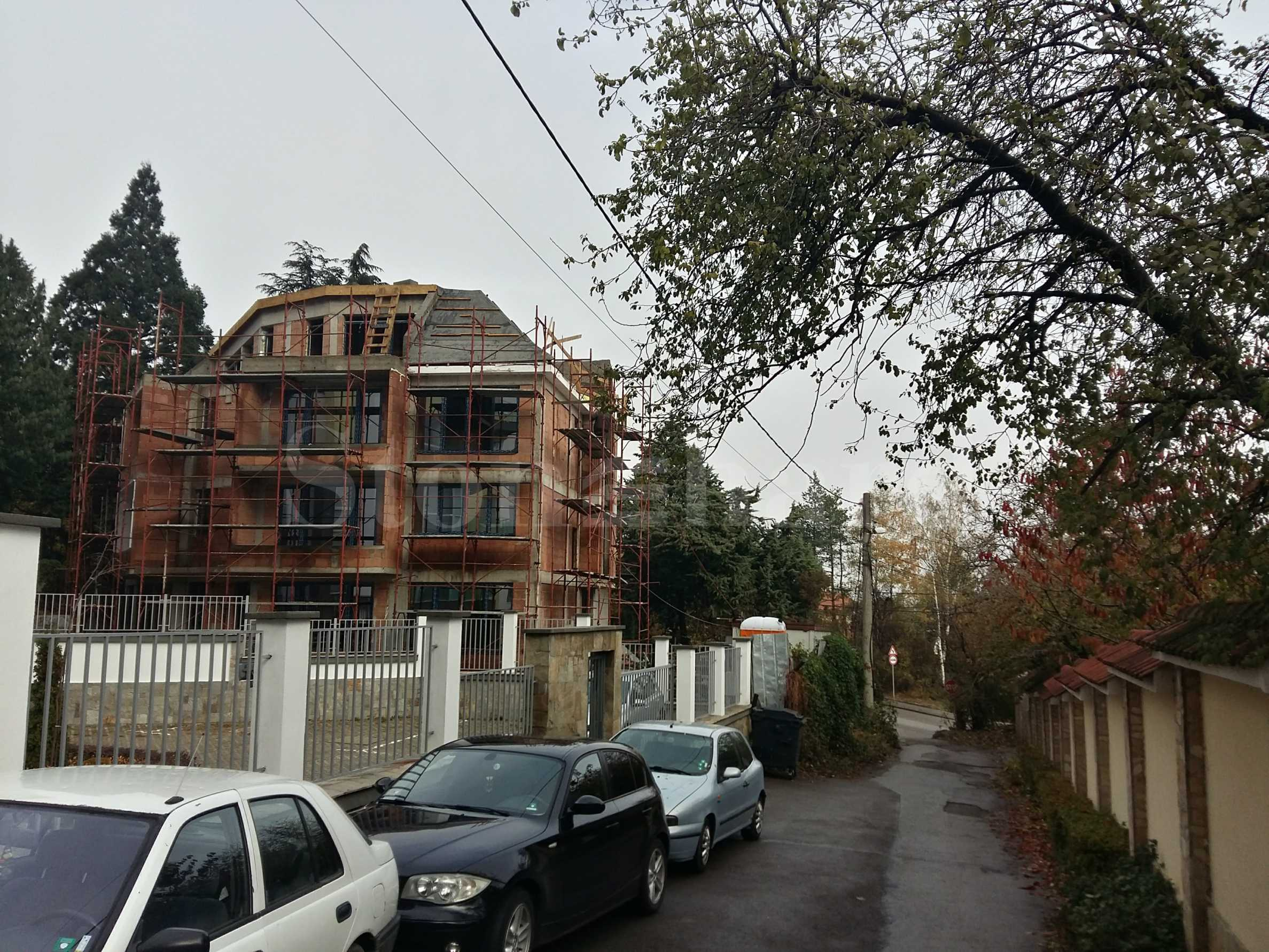 Boutique building with five apartments in Boyana2 - Stonehard