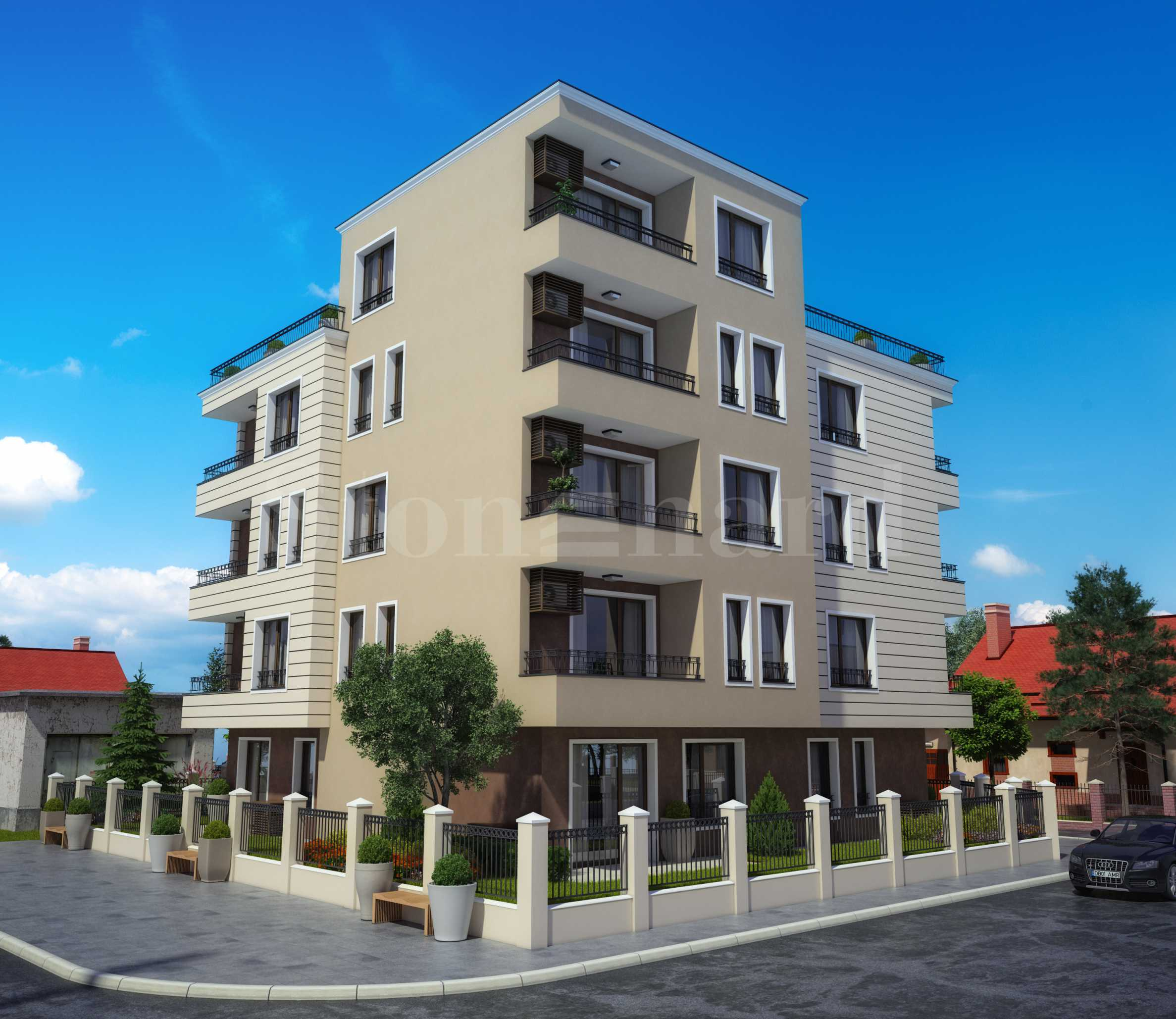 Apartments in a new residential complex in Ravda seaside resort2 - Stonehard
