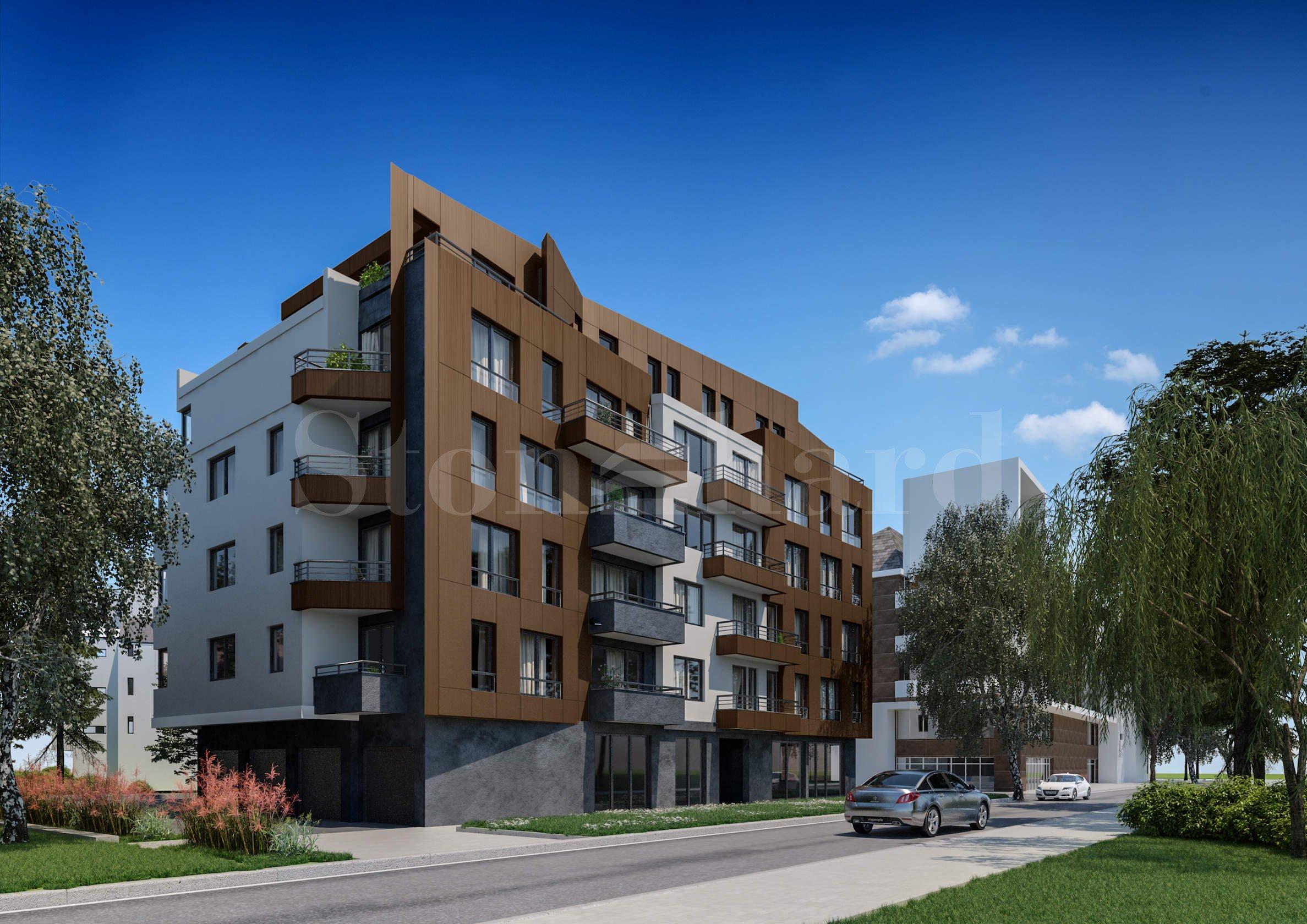 Новострояща се жилищна сграда до Софийска духовна семинария и спирка на градския транспорт1 - Stonehard