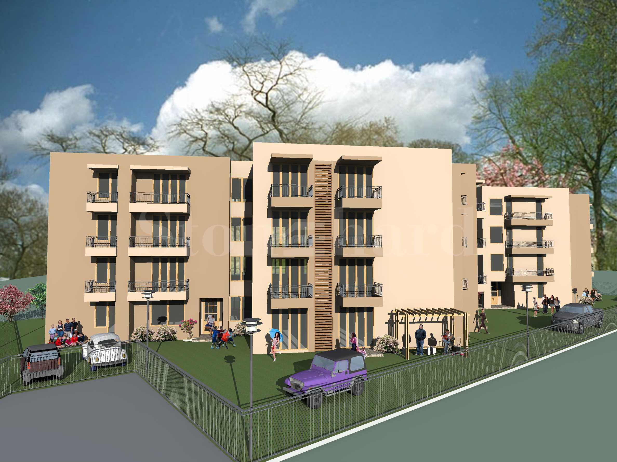 Многофамилна жилищна сграда в Сарафово, гр. Бургас1 - Stonehard