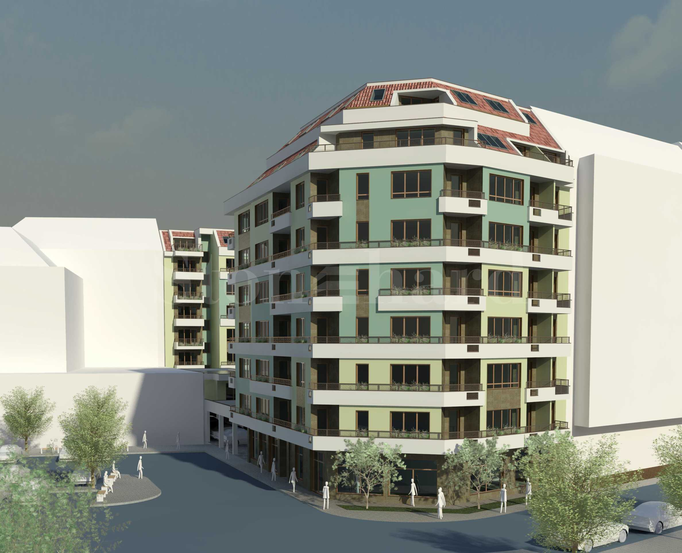 New residential building with shops and offices in Burgas, Slaveykov neighborhood2 - Stonehard