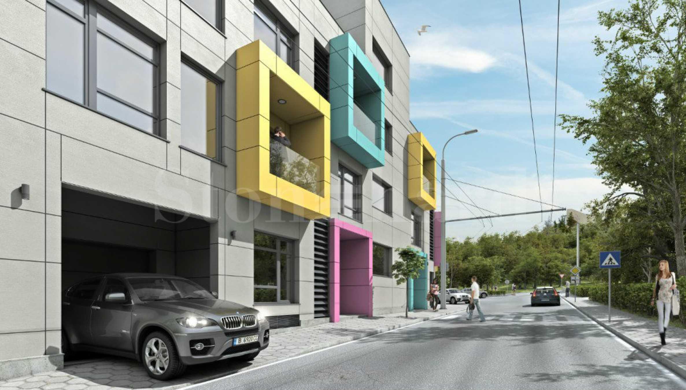 Апартаменти с морска панорама в новостроящ се комплекс в кв. Бриз1 - Stonehard