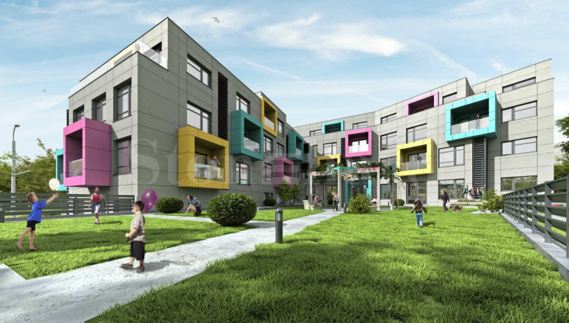 Апартаменти с морска панорама в новостроящ се комплекс в кв. Бриз2 - Stonehard