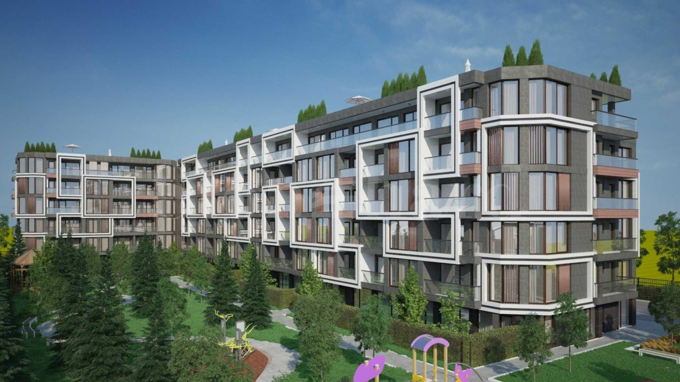 Нов атрактивен комплекс от апартаменти в Сарафово1 - Stonehard