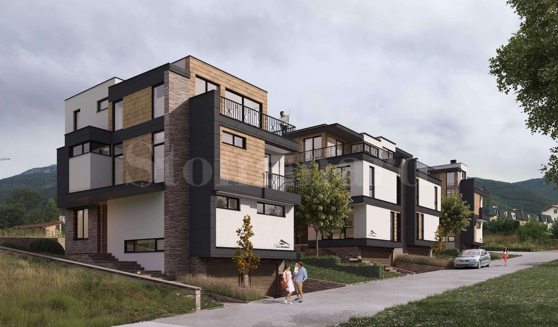 Brand-new luxury 3-storey townhouses close to the Boyana Residence, Sofia2 - Stonehard