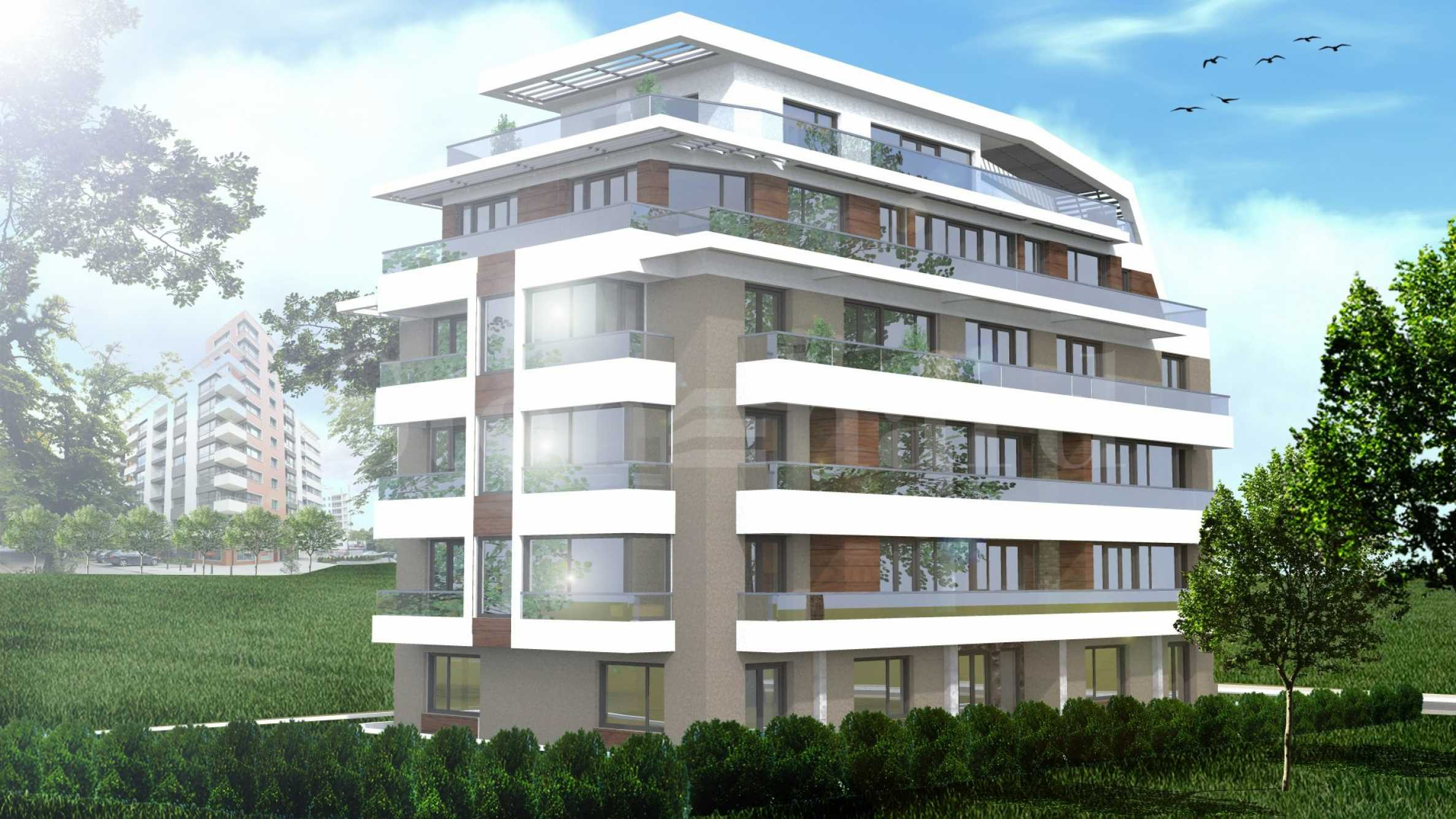 Spacious apartments in a new attractive building near parks1 - Stonehard