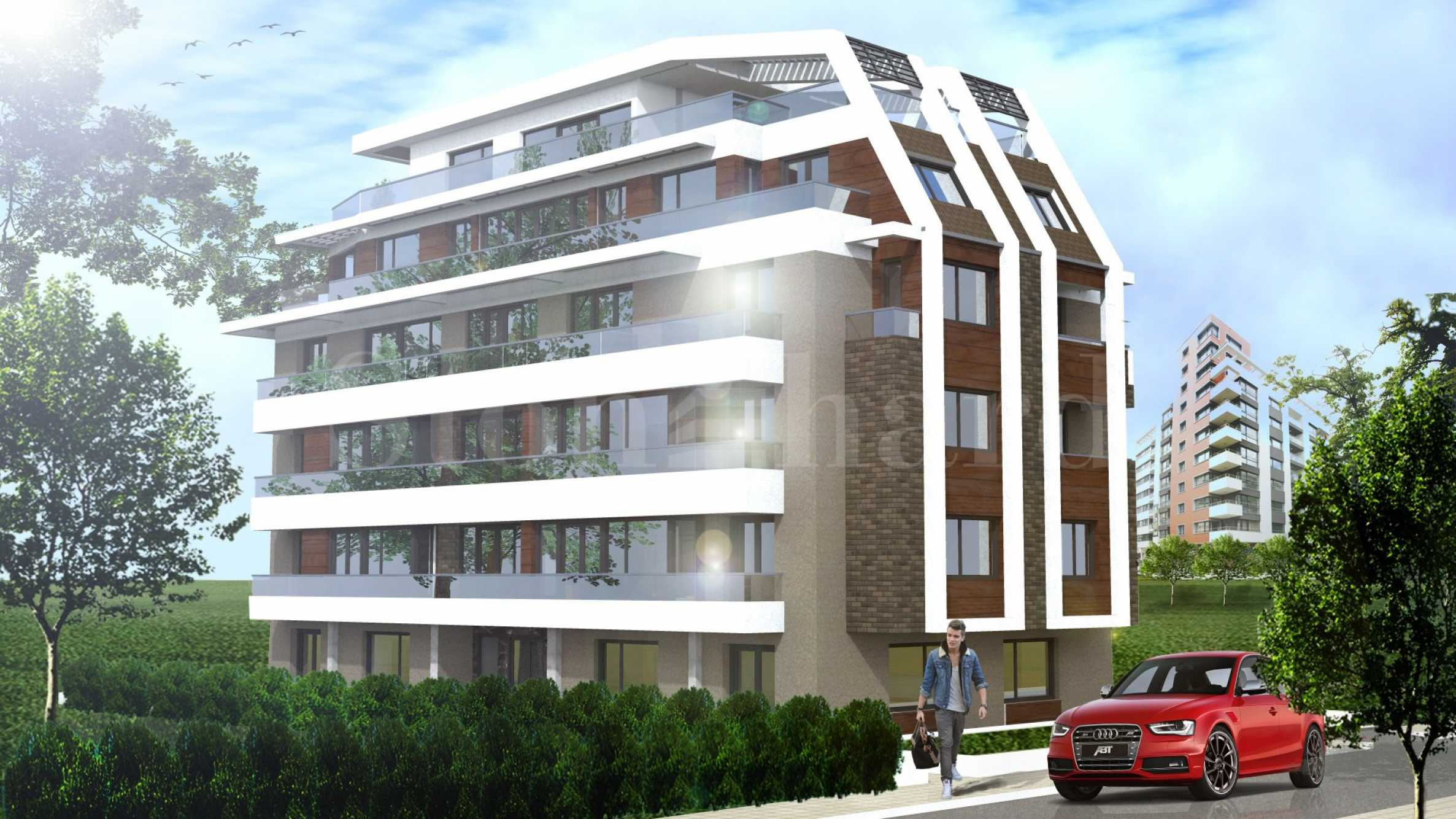 Spacious apartments in a new attractive building near parks2 - Stonehard