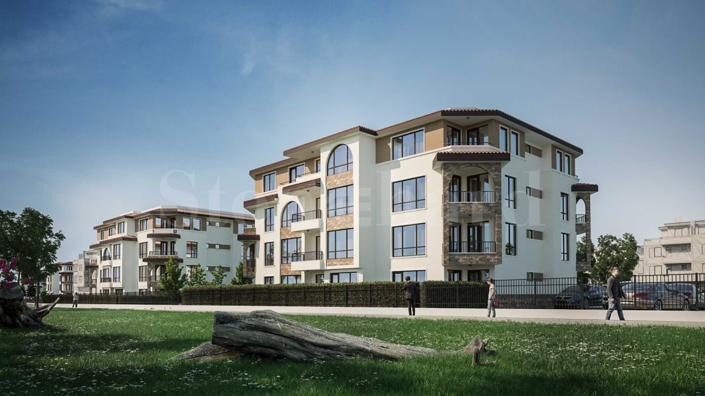 Elegant residential complex in Sarafovo district2 - Stonehard