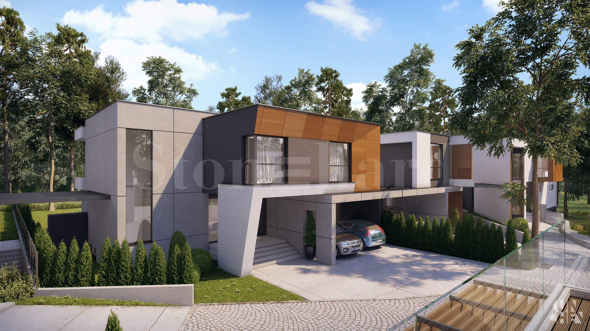 Luxurious development with houses close to the government residence Boyana 1 - Stonehard