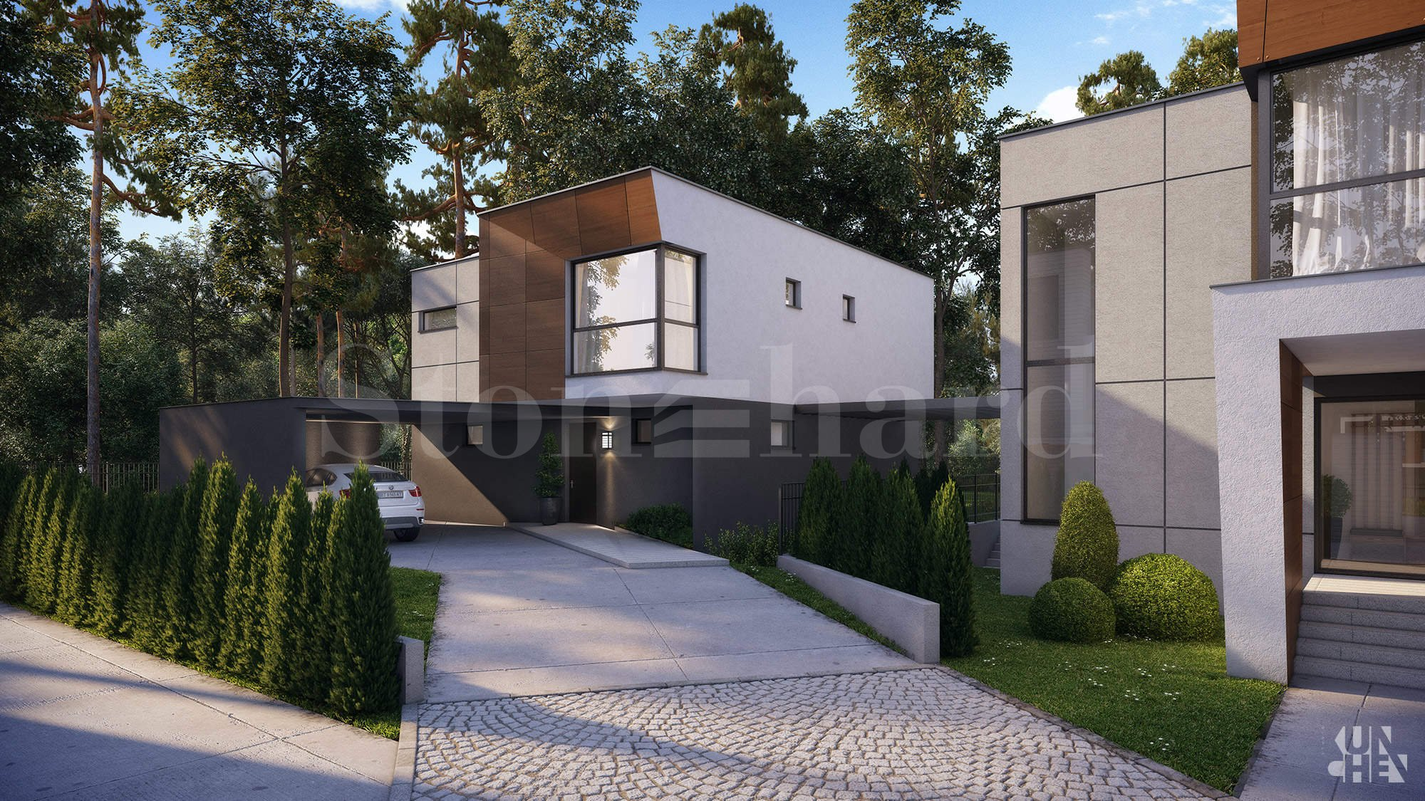 Luxurious development with houses close to the government residence Boyana 2 - Stonehard