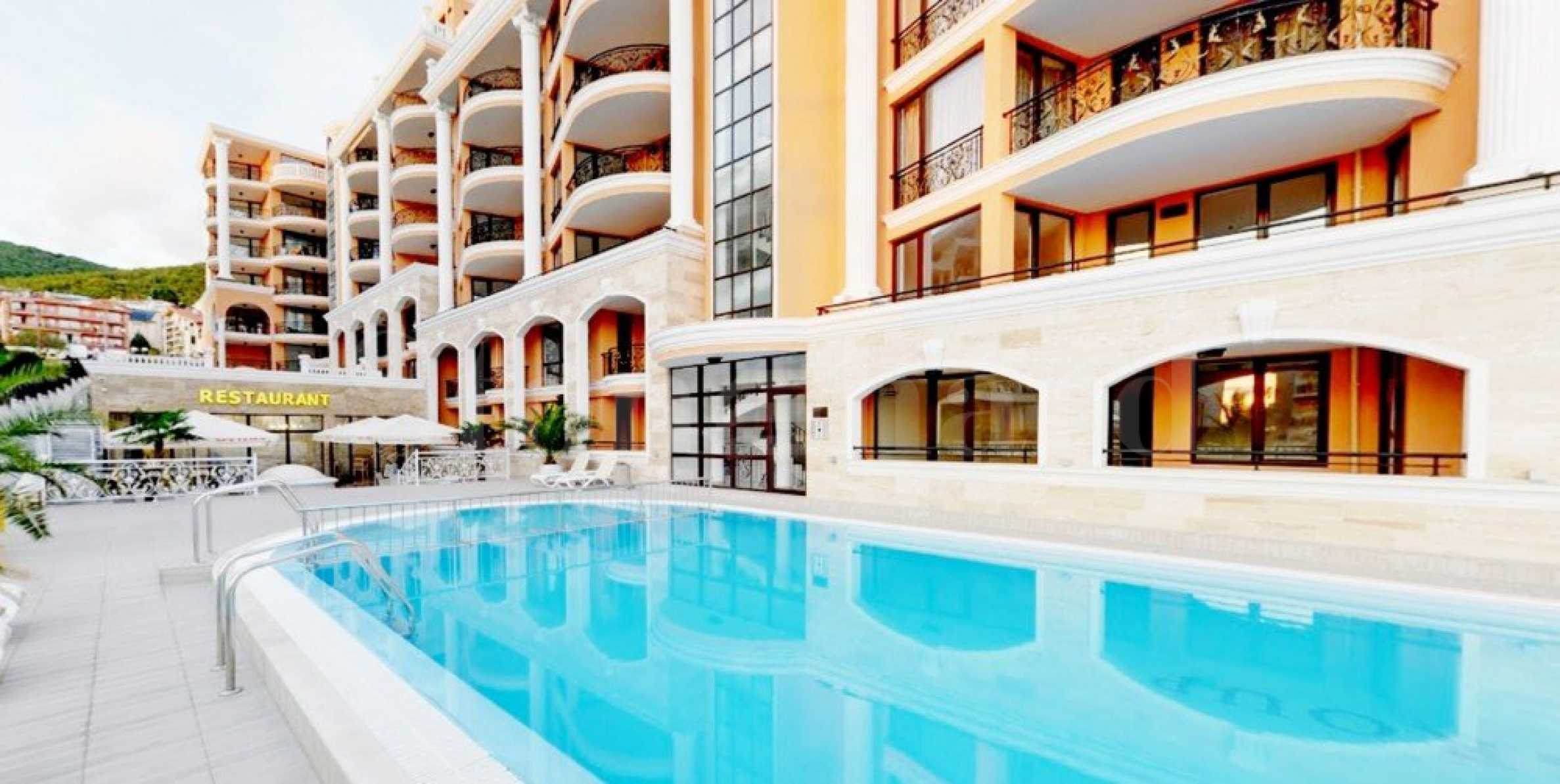 Apartments with sea views in a newly built complex in Sveti Vlas resort1 - Stonehard