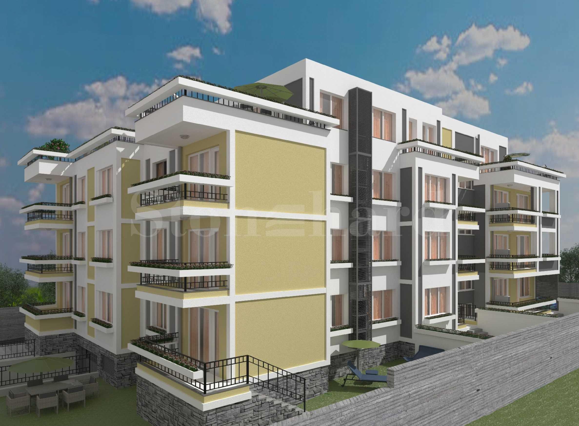Апартаменти в комплекс ново строителство близо до плажа на Сарафово1 - Stonehard