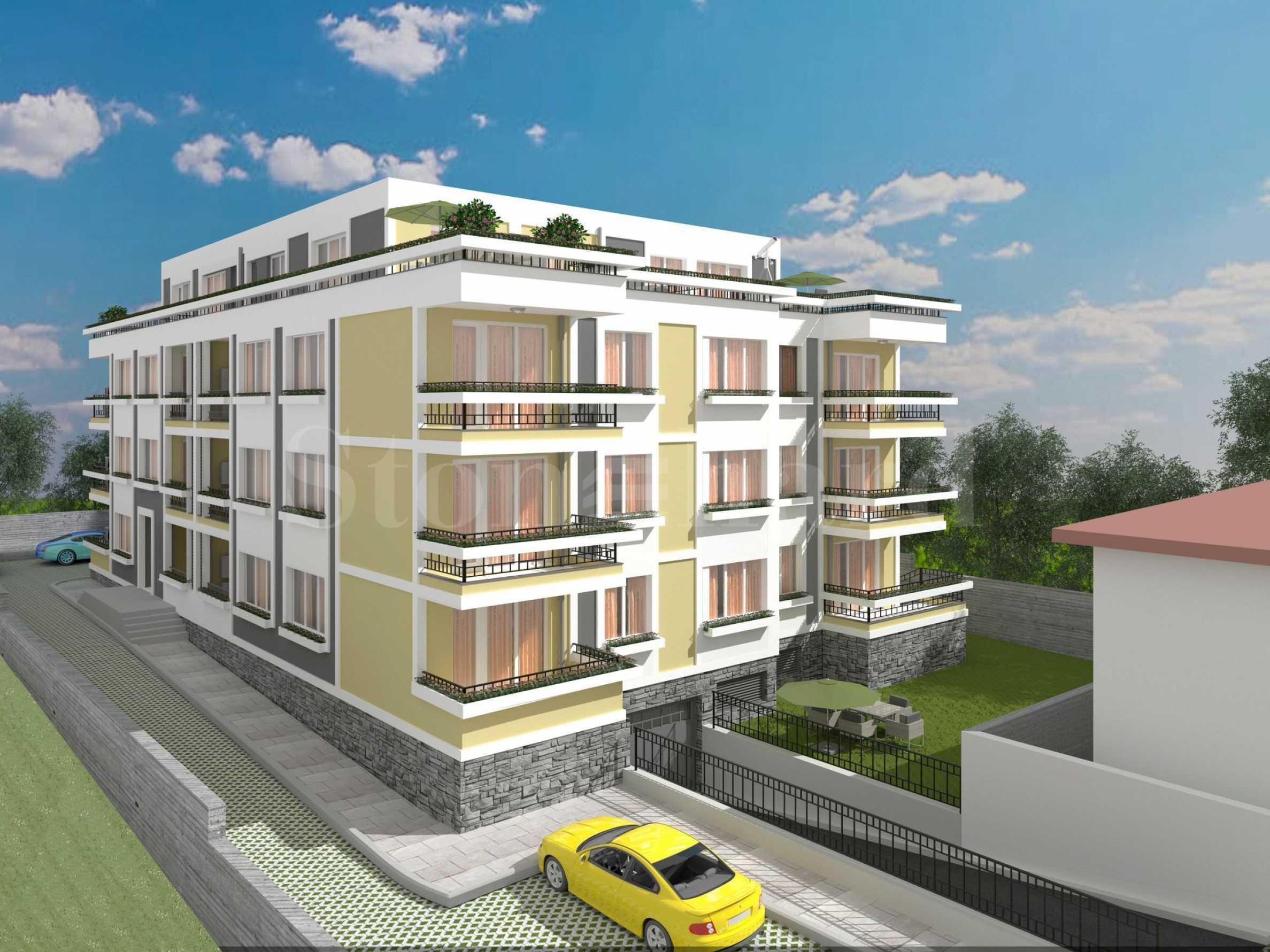 Апартаменти в комплекс ново строителство близо до плажа на Сарафово2 - Stonehard