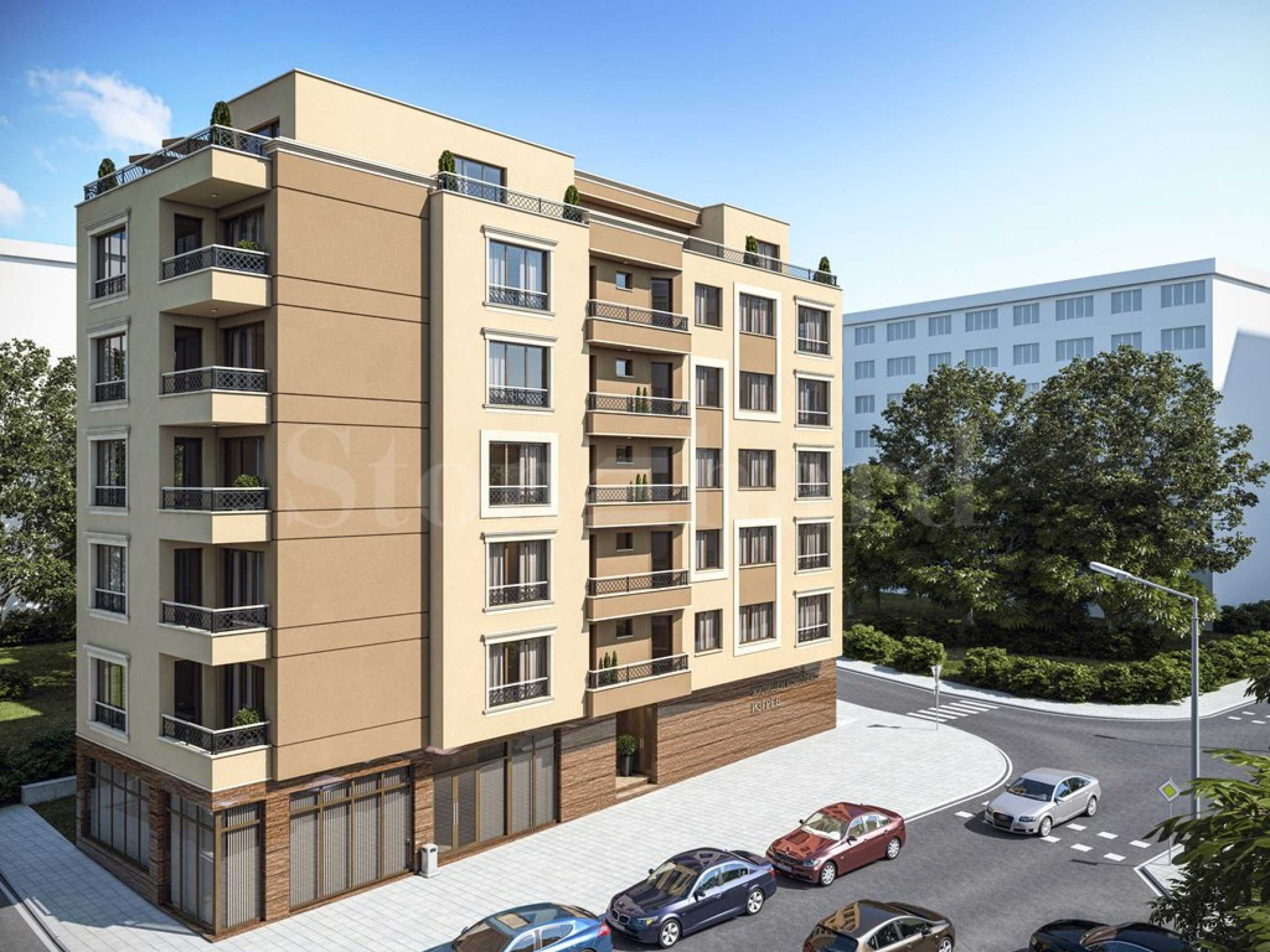 Apartments in a new residential building in Izgrev district, near Burgas Plaza Mall 1 - Stonehard