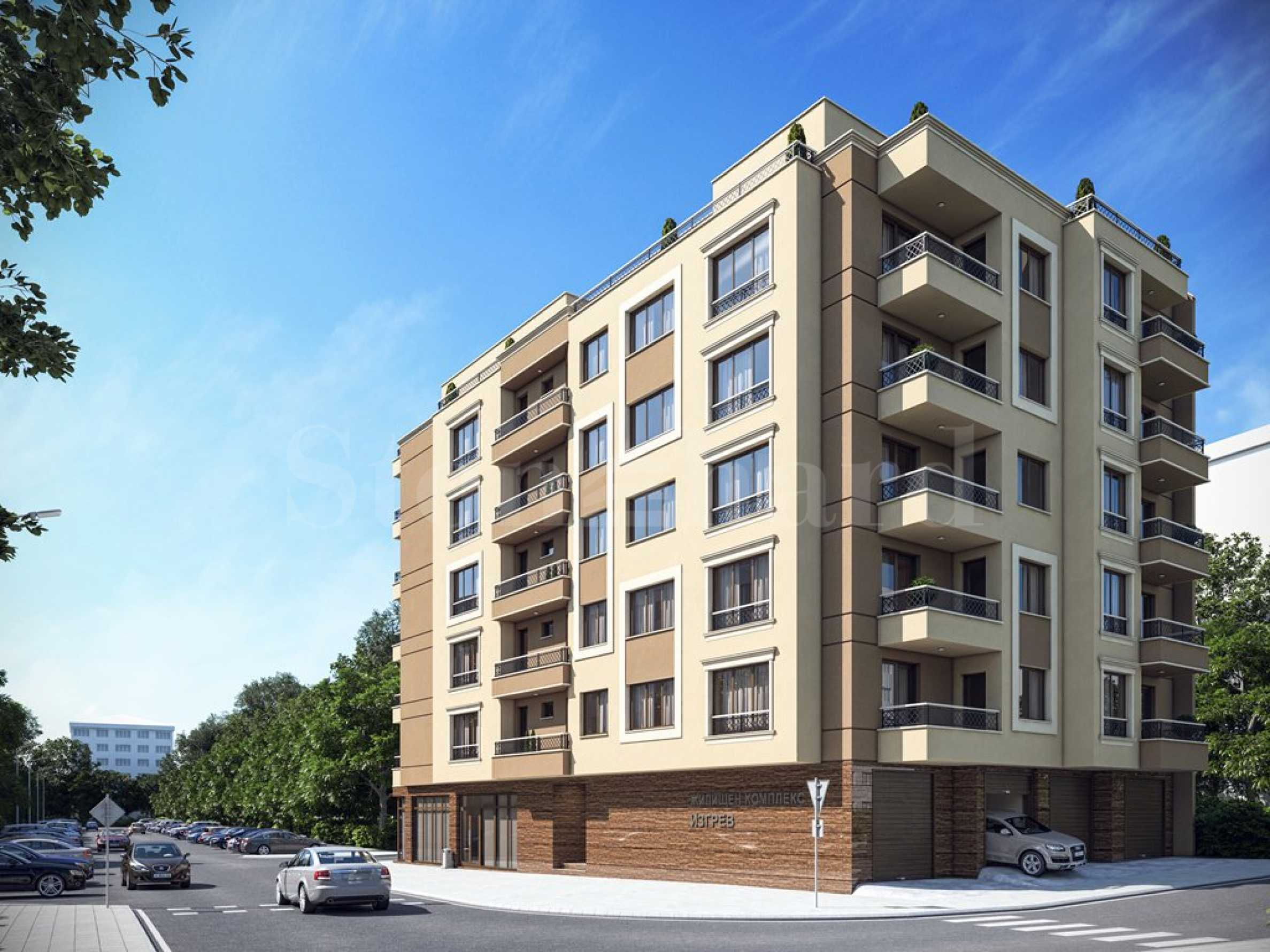 Apartments in a new residential building in Izgrev district, near Burgas Plaza Mall 2 - Stonehard