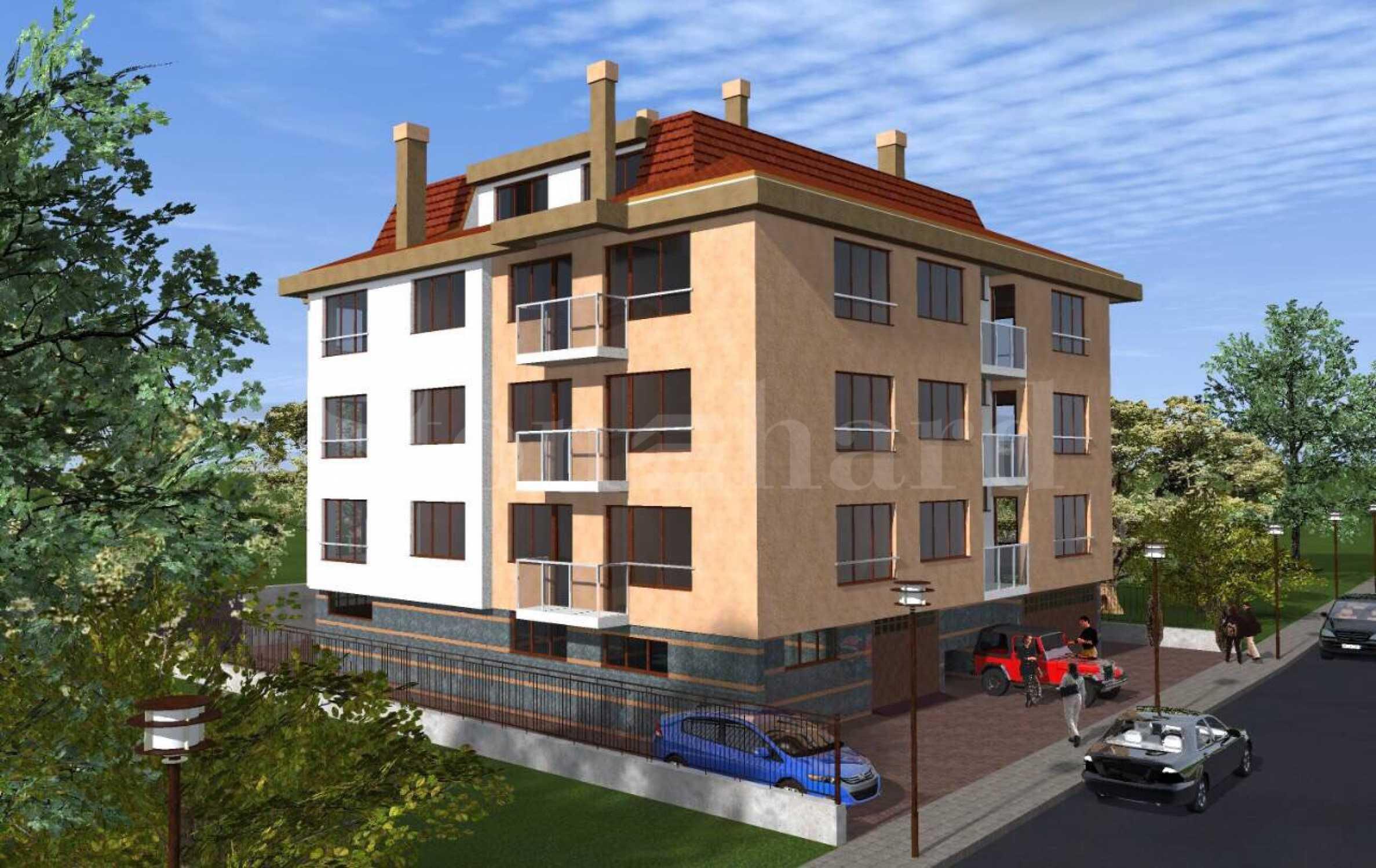Сграда с ограничен брой апартаменти и предстоящ Акт 161 - Stonehard
