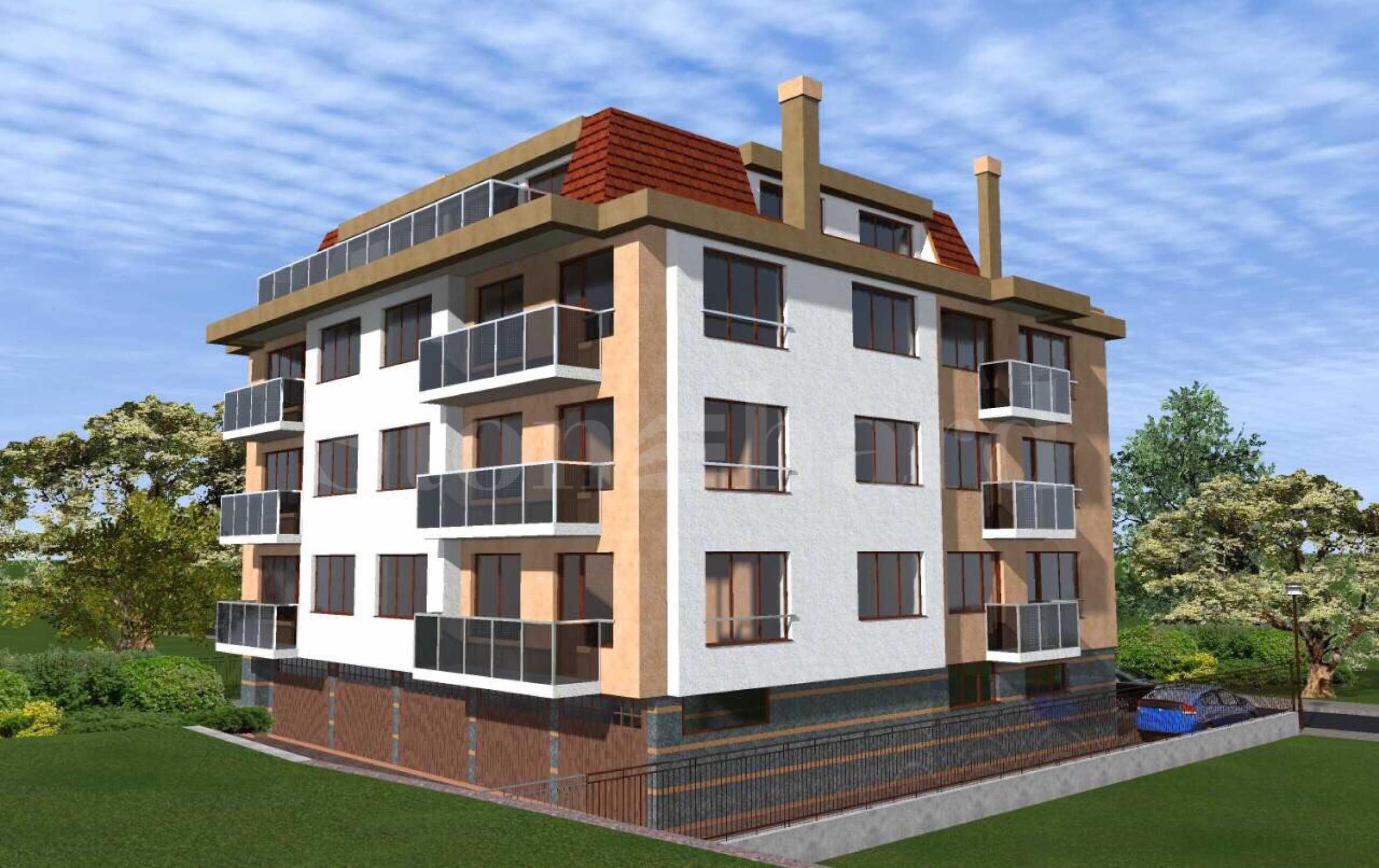 Сграда с ограничен брой апартаменти и предстоящ Акт 162 - Stonehard