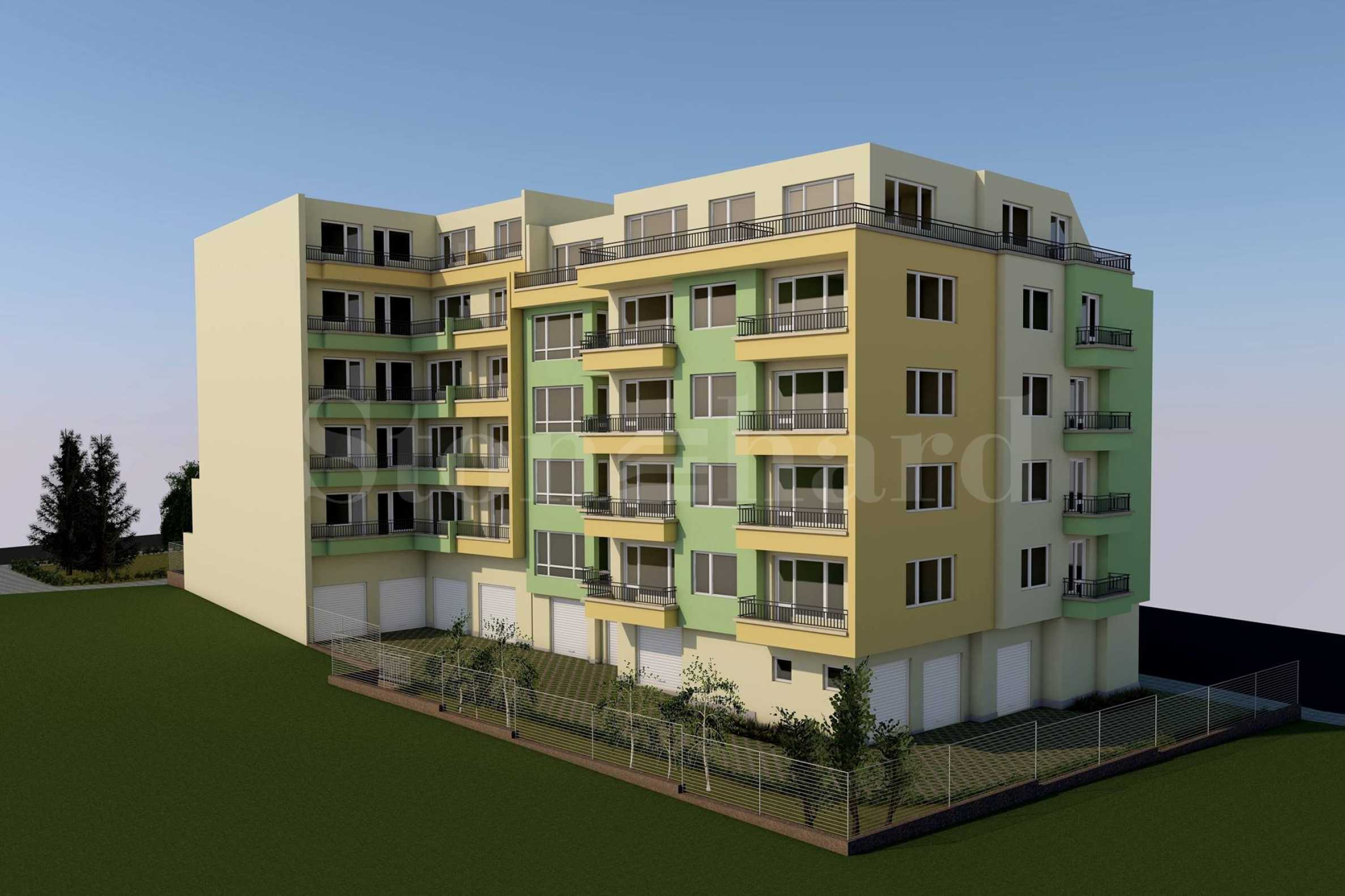 Apartments in a new-build residential building in Meden Rudnik zone V2 - Stonehard