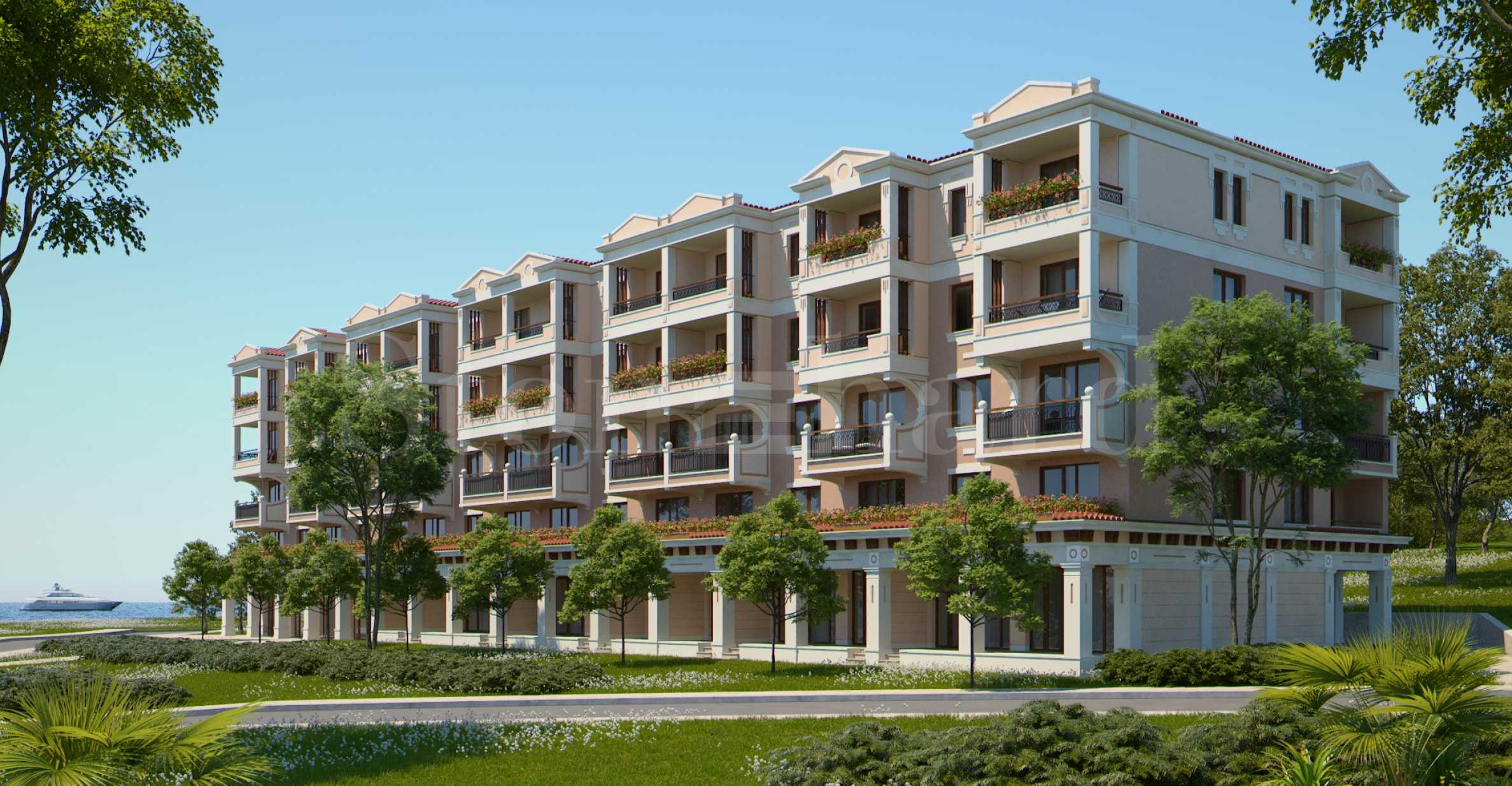 Premium apartments in a waterfront complex at attractive prices1 - Stonehard