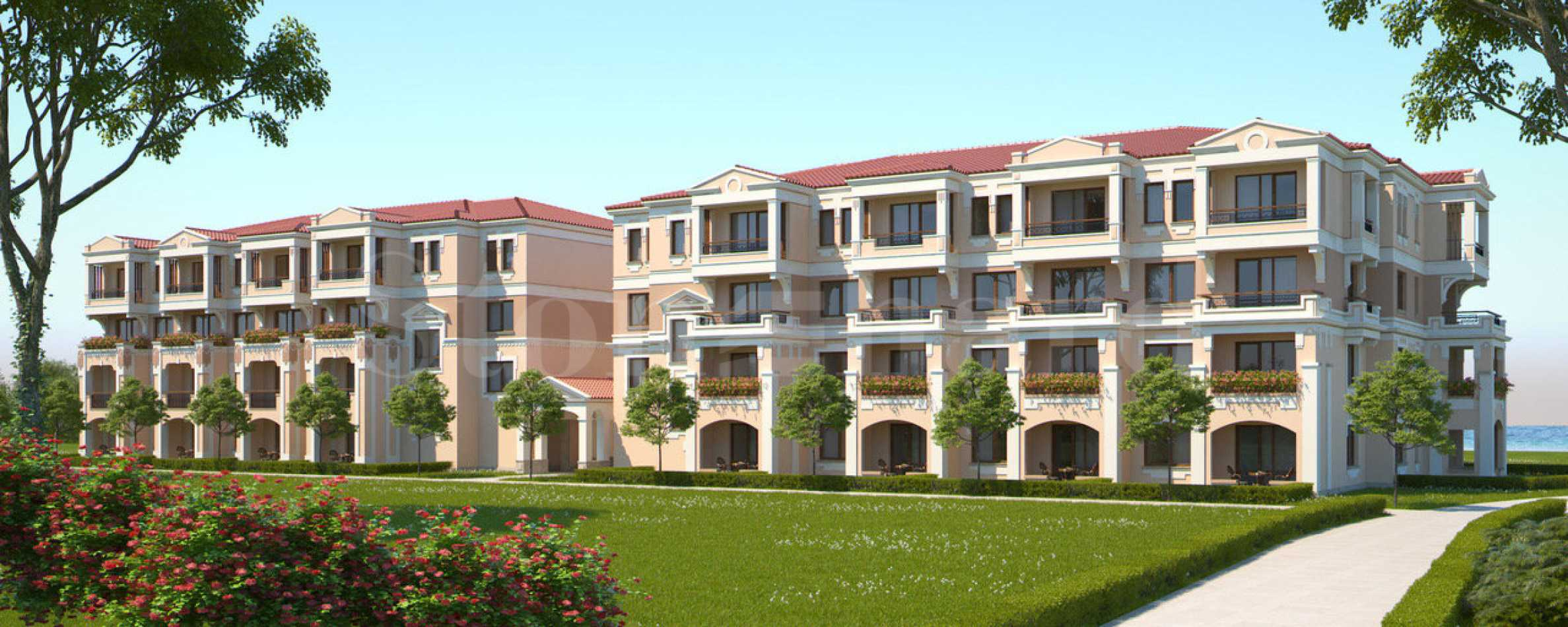 Apartments from the newest phase of premium complex near Sozopol2 - Stonehard
