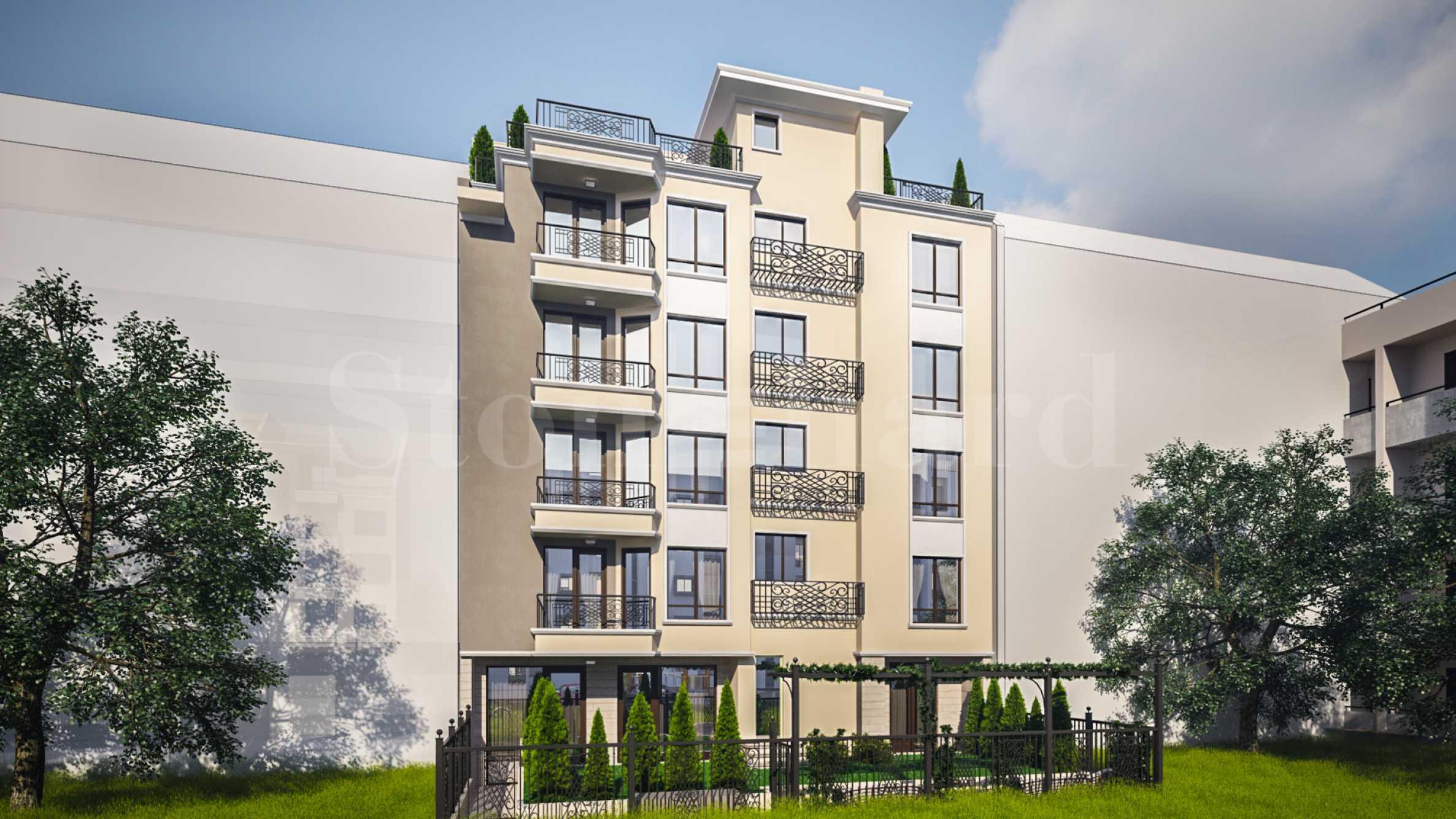 Нова елегантна сграда с малък брой апартаменти до Морската градина1 - Stonehard