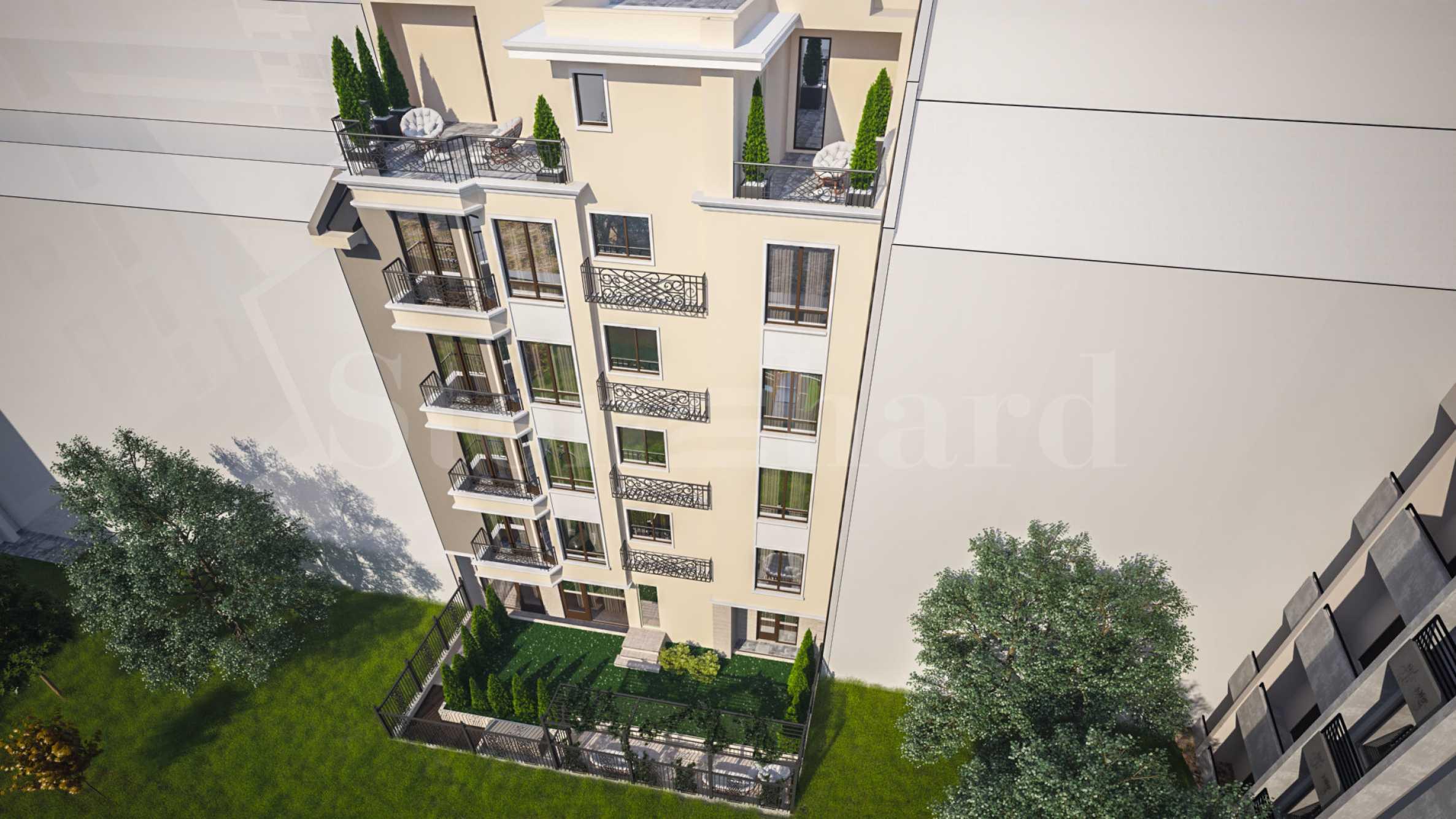 Нова елегантна сграда с малък брой апартаменти до Морската градина2 - Stonehard
