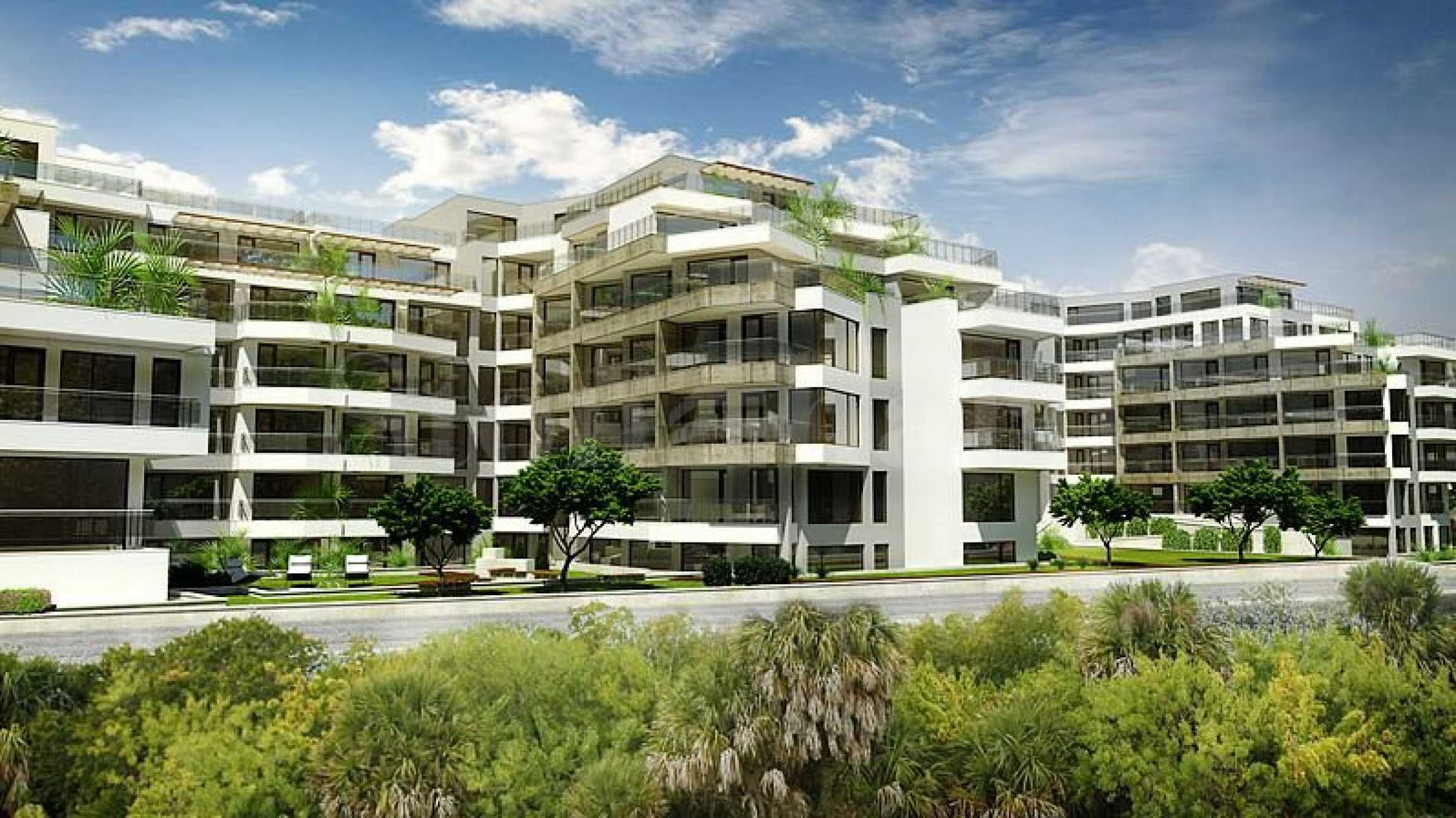 Апартаменти в новостроящ се комплекс на първа линия море в Сарафово1 - Stonehard