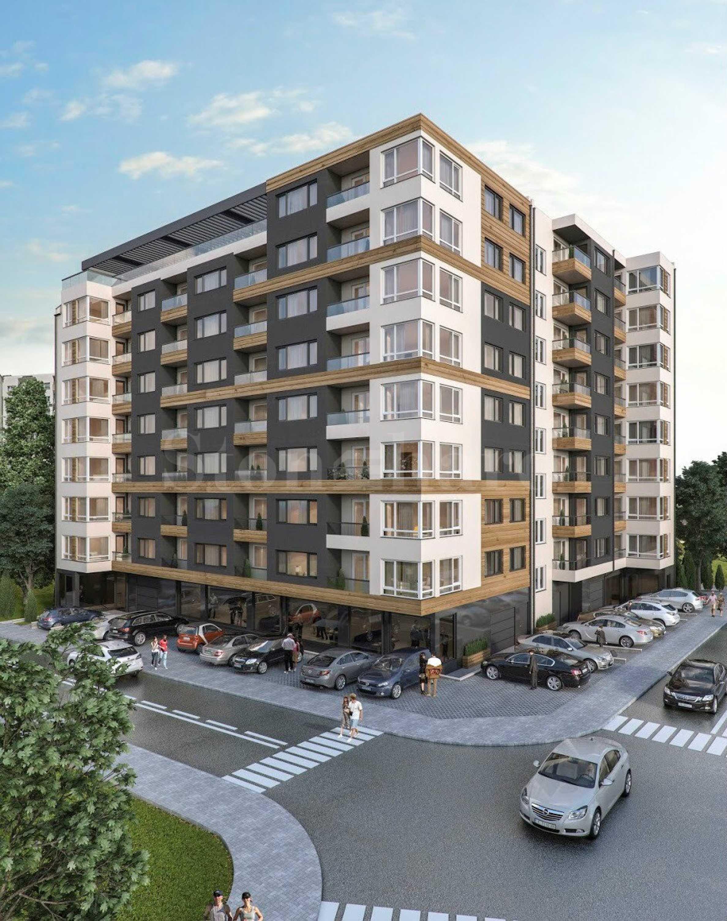 Нови апартаменти в жилищна сграда в ж.к. Кайсиева градина, Варна1 - Stonehard