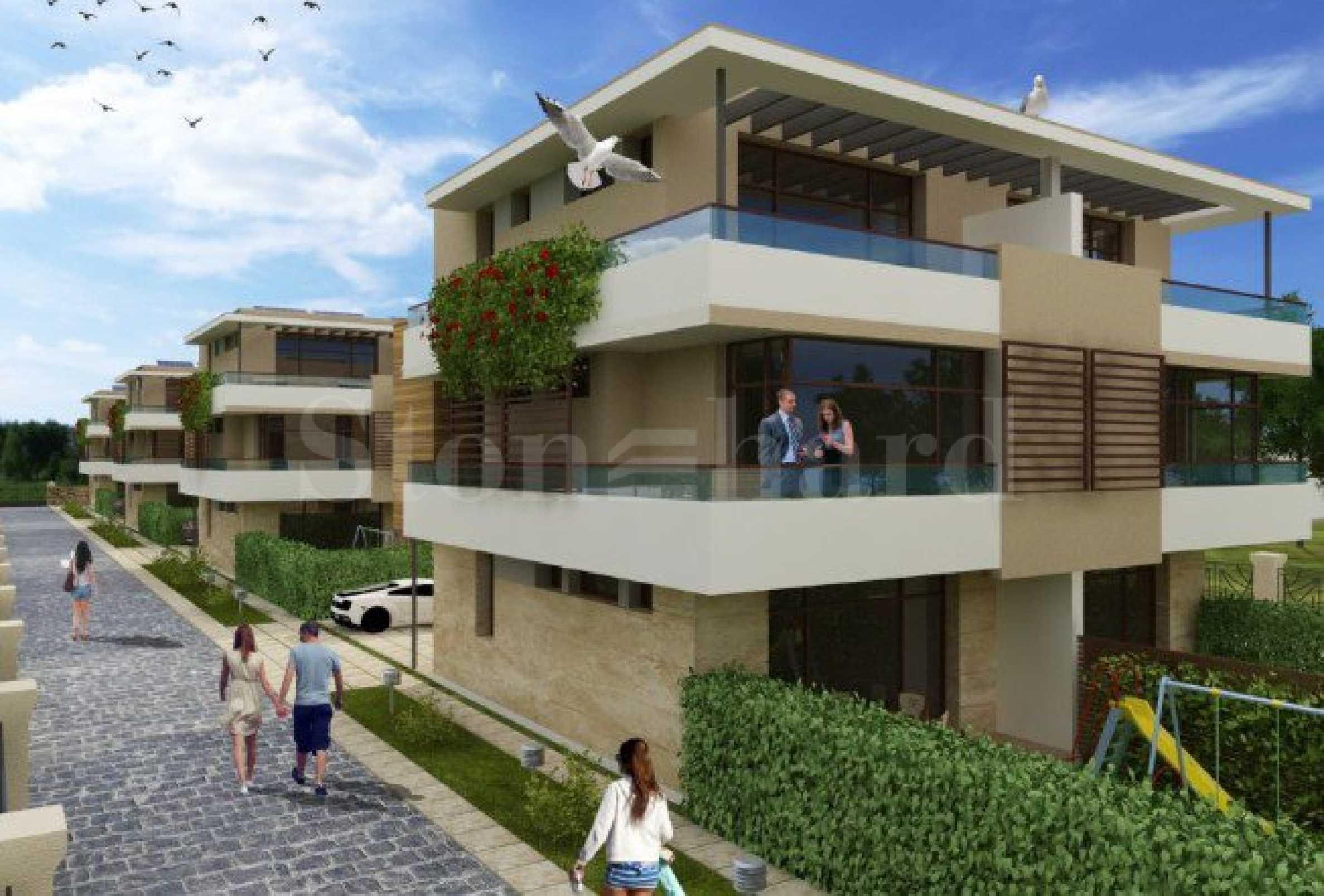 Съвременни къщи ново строителство близо до плажа в Сарафово2 - Stonehard
