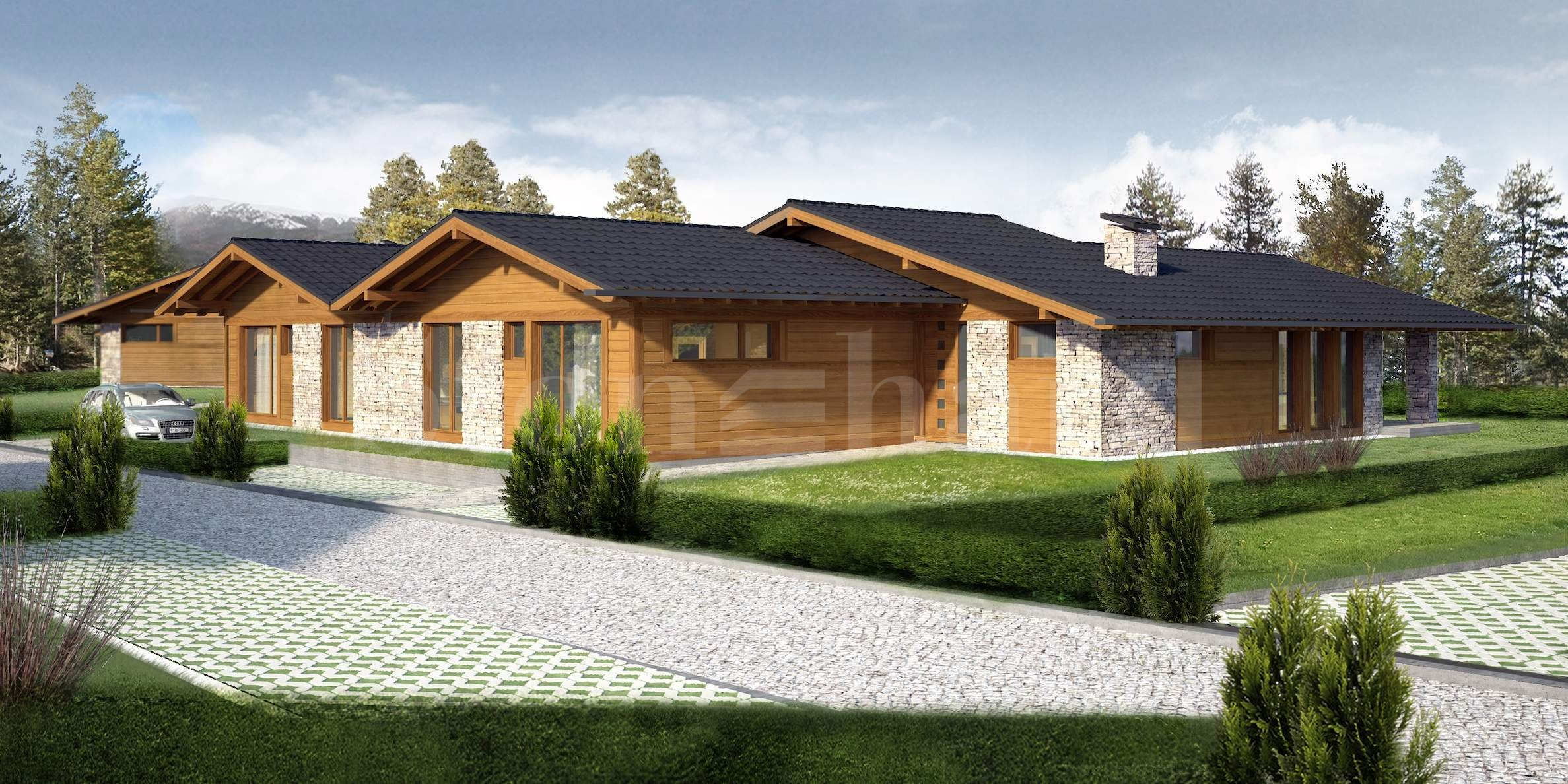 Elegant and modern chalets near Pirin Golf & Country Club2 - Stonehard