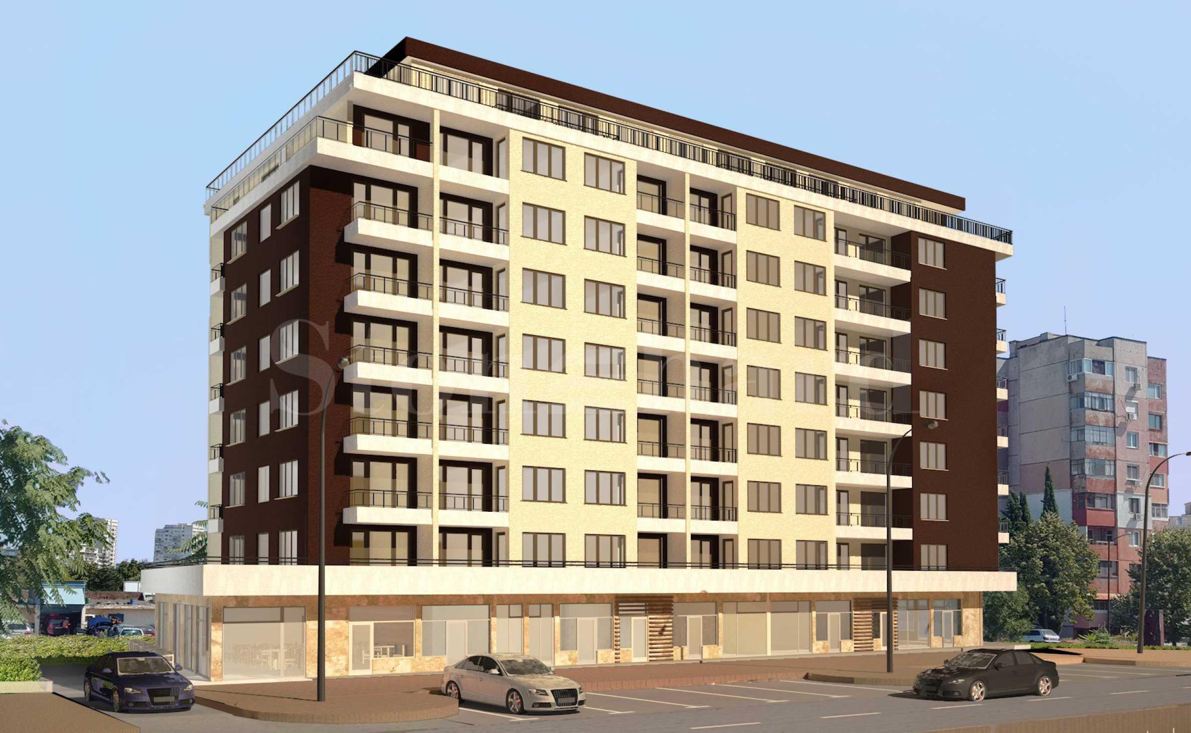 Апартаменти в новострояща се жилищна сграда до BILLA, кв. Изгрев1 - Stonehard