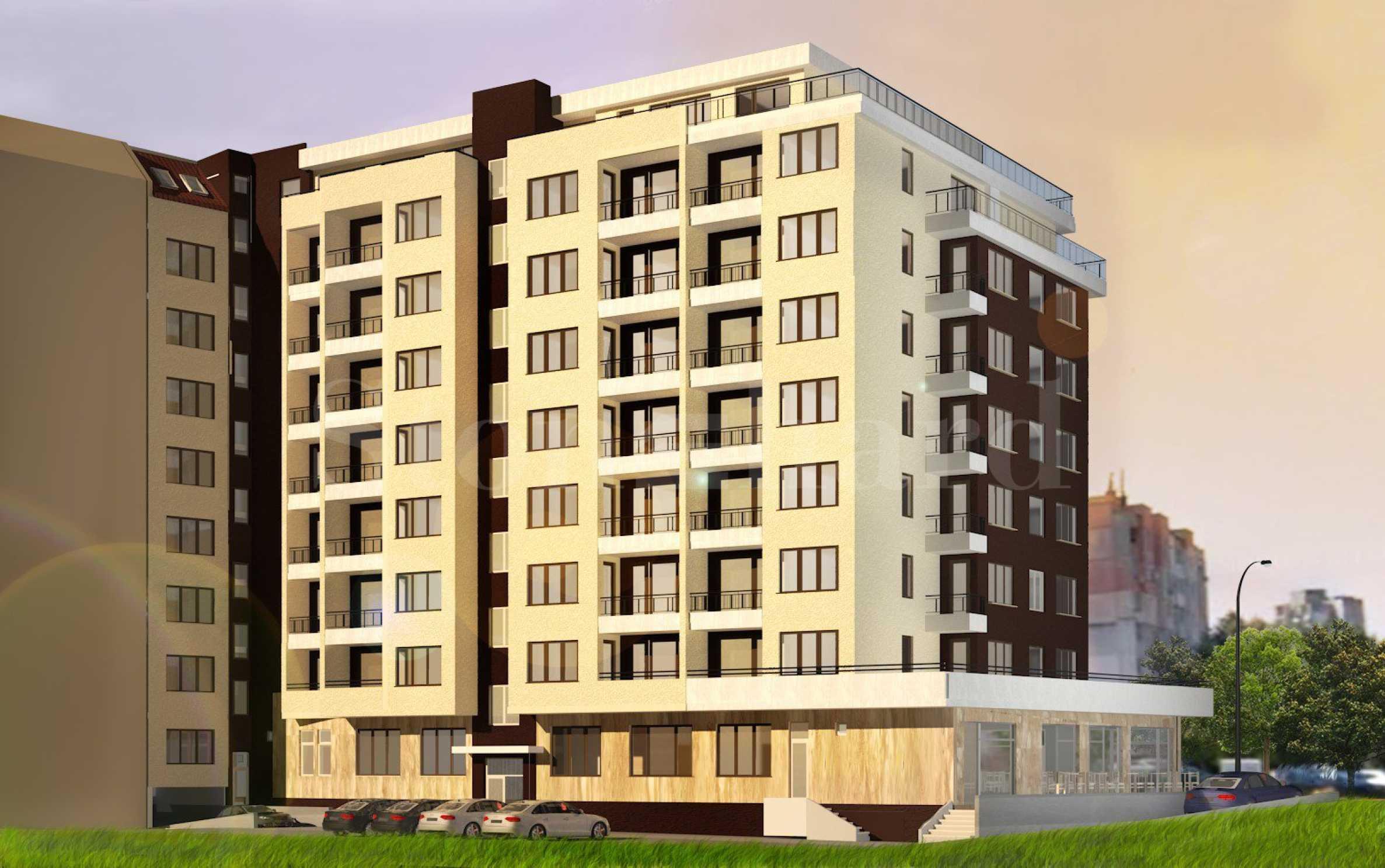 Апартаменти в новострояща се жилищна сграда до BILLA, кв. Изгрев2 - Stonehard