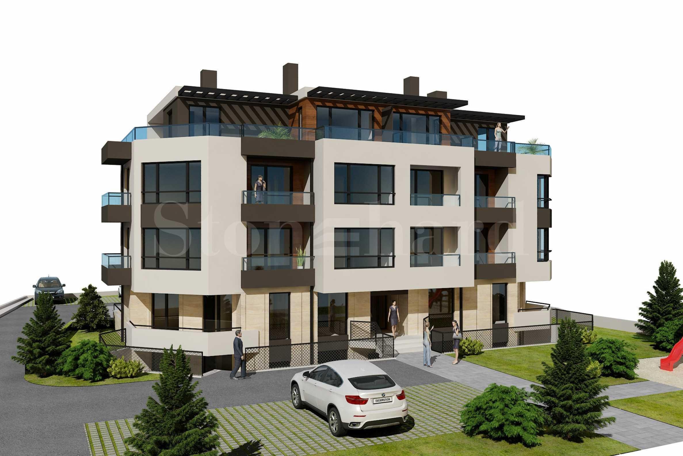Апартаменти в новострояща се сграда в ж.к. Възраждане 3, гр. Варна1 - Stonehard