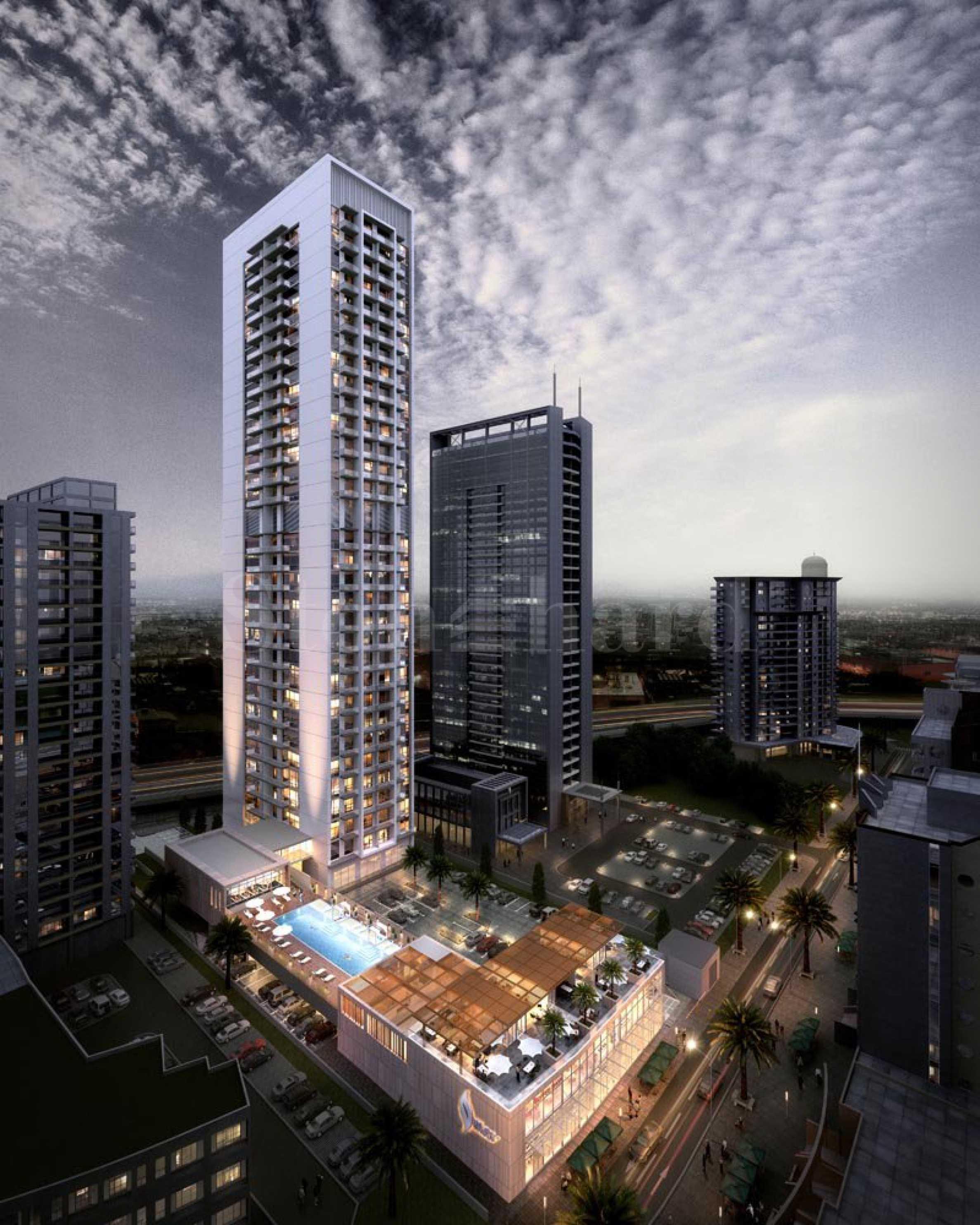 Нова жилищна сграда - небостъргач в Дубай Марина1 - Stonehard