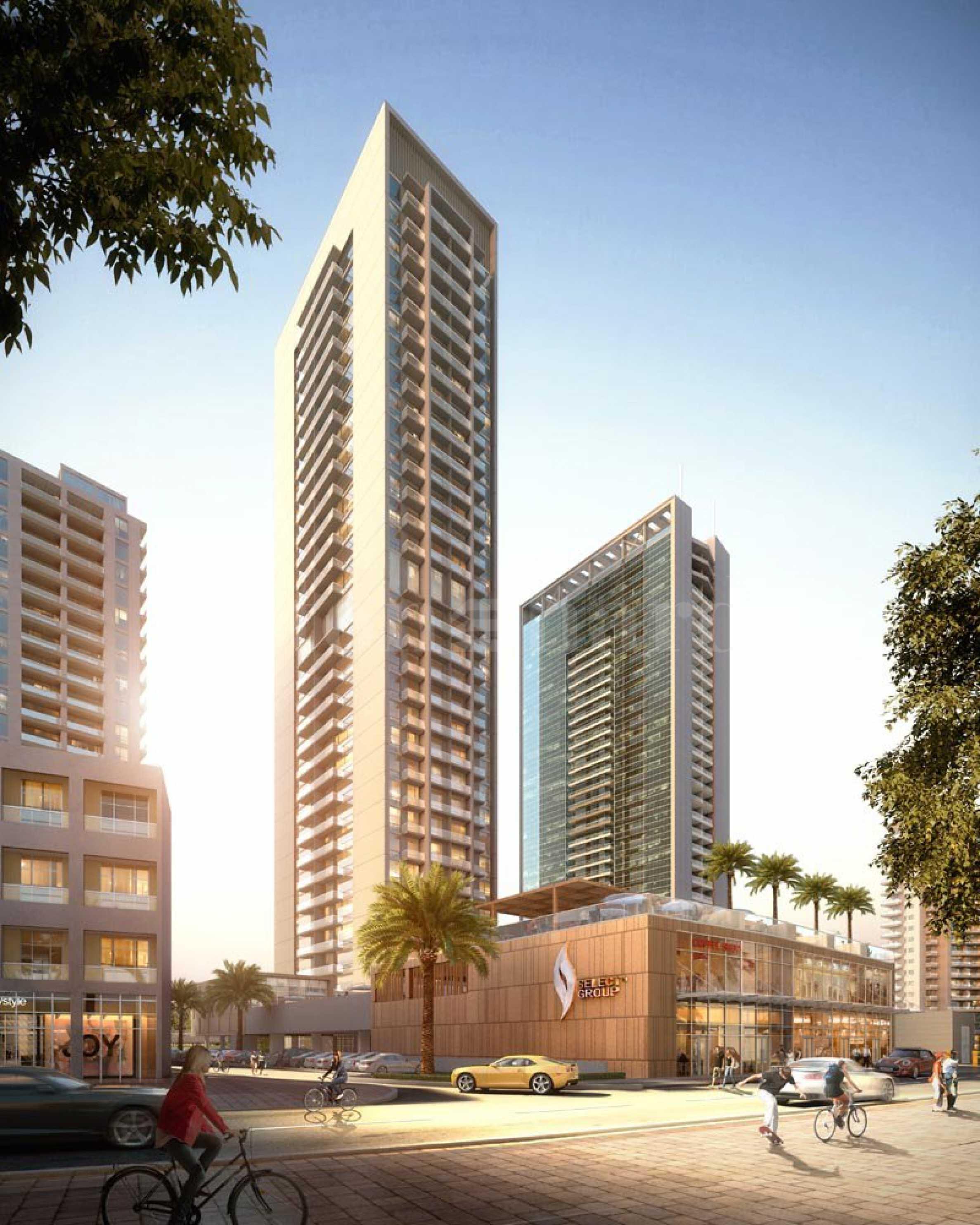 Нова жилищна сграда - небостъргач в Дубай Марина2 - Stonehard