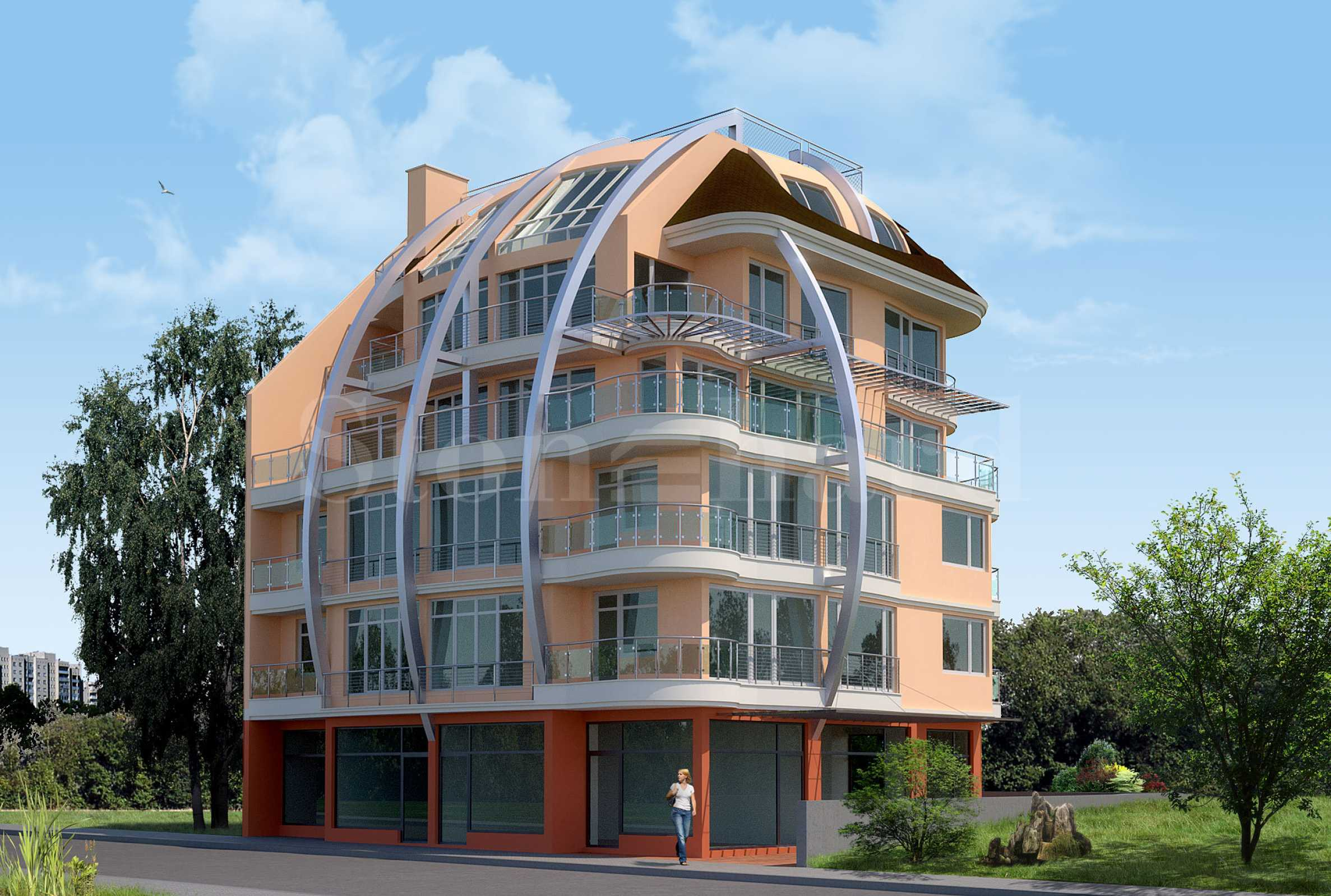 Apartments in a new residential building in the city center1 - Stonehard