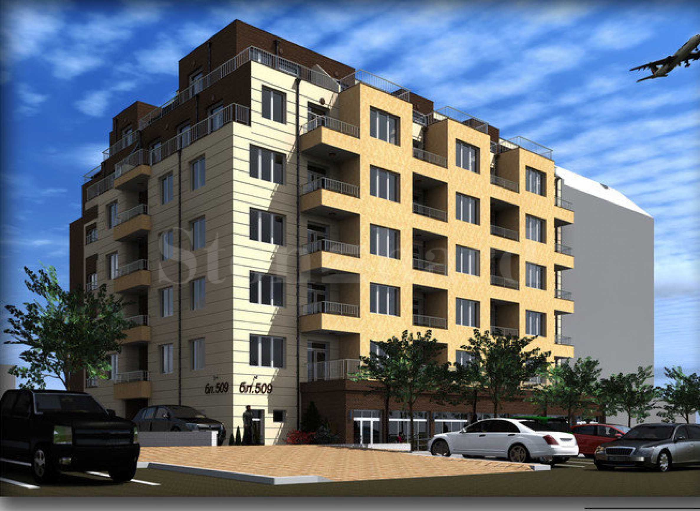 Apartments at attractive prices in a new contemporary building1 - Stonehard