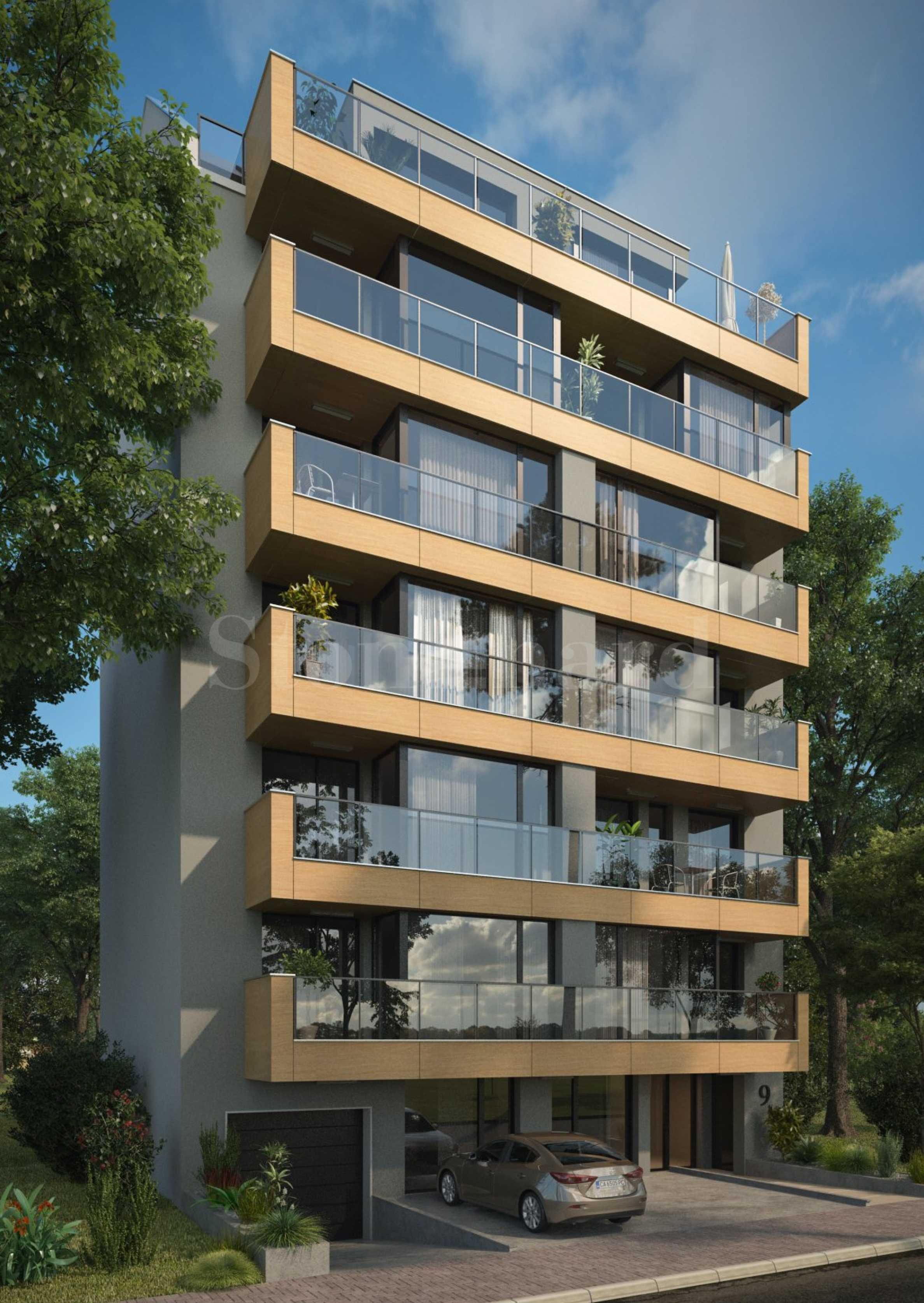 New residential building in one of the most prestigious areas in Sofia - Belite Brezi district1 - Stonehard