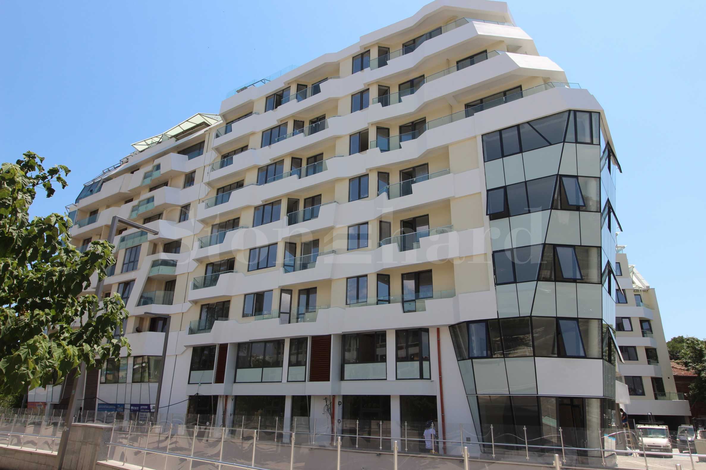 Apartments in a newly-built modern building in the very center of Burgas1 - Stonehard