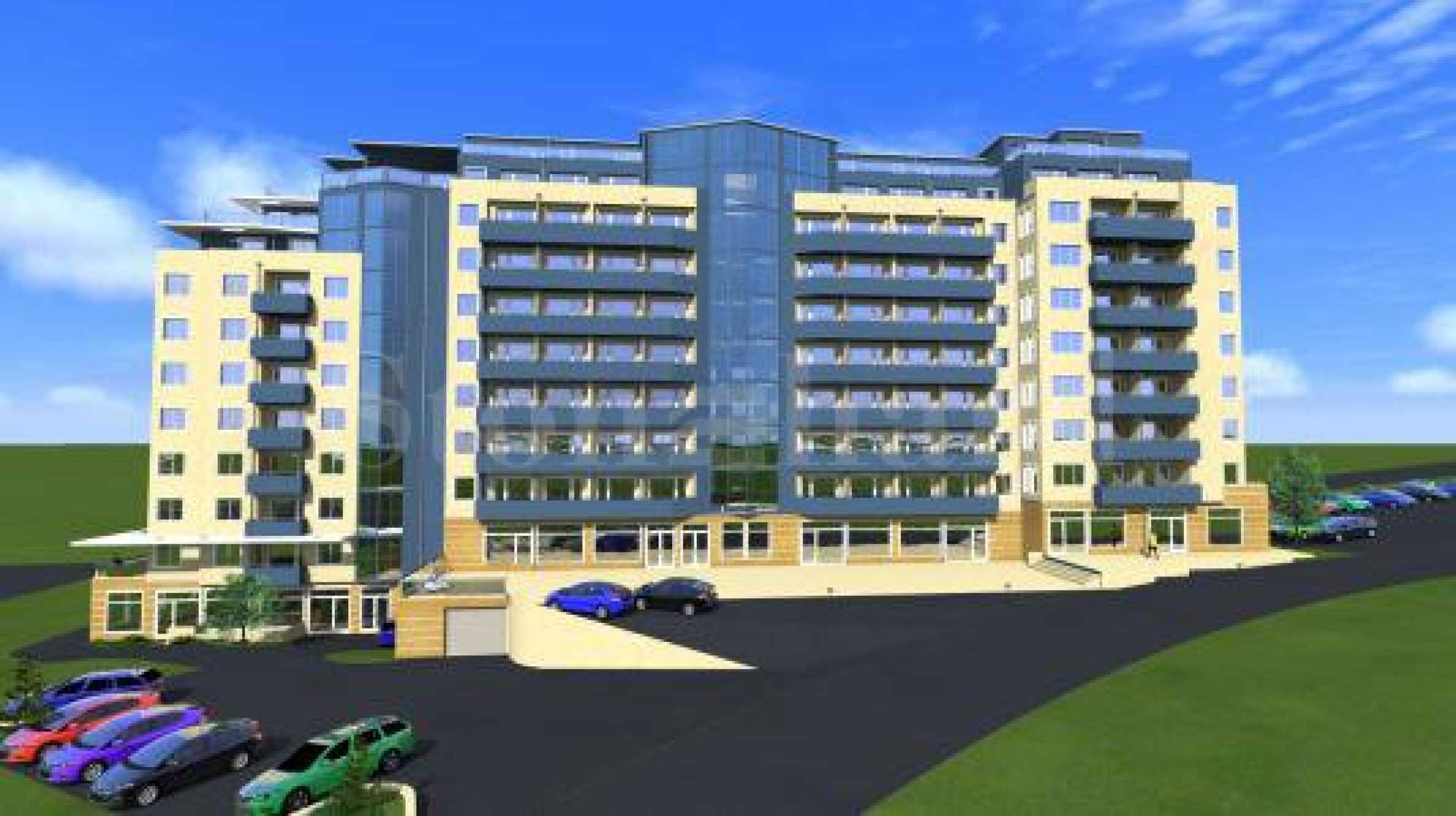 New apartment and shops in a mixed-use building in Meden rudnik zone A1 - Stonehard
