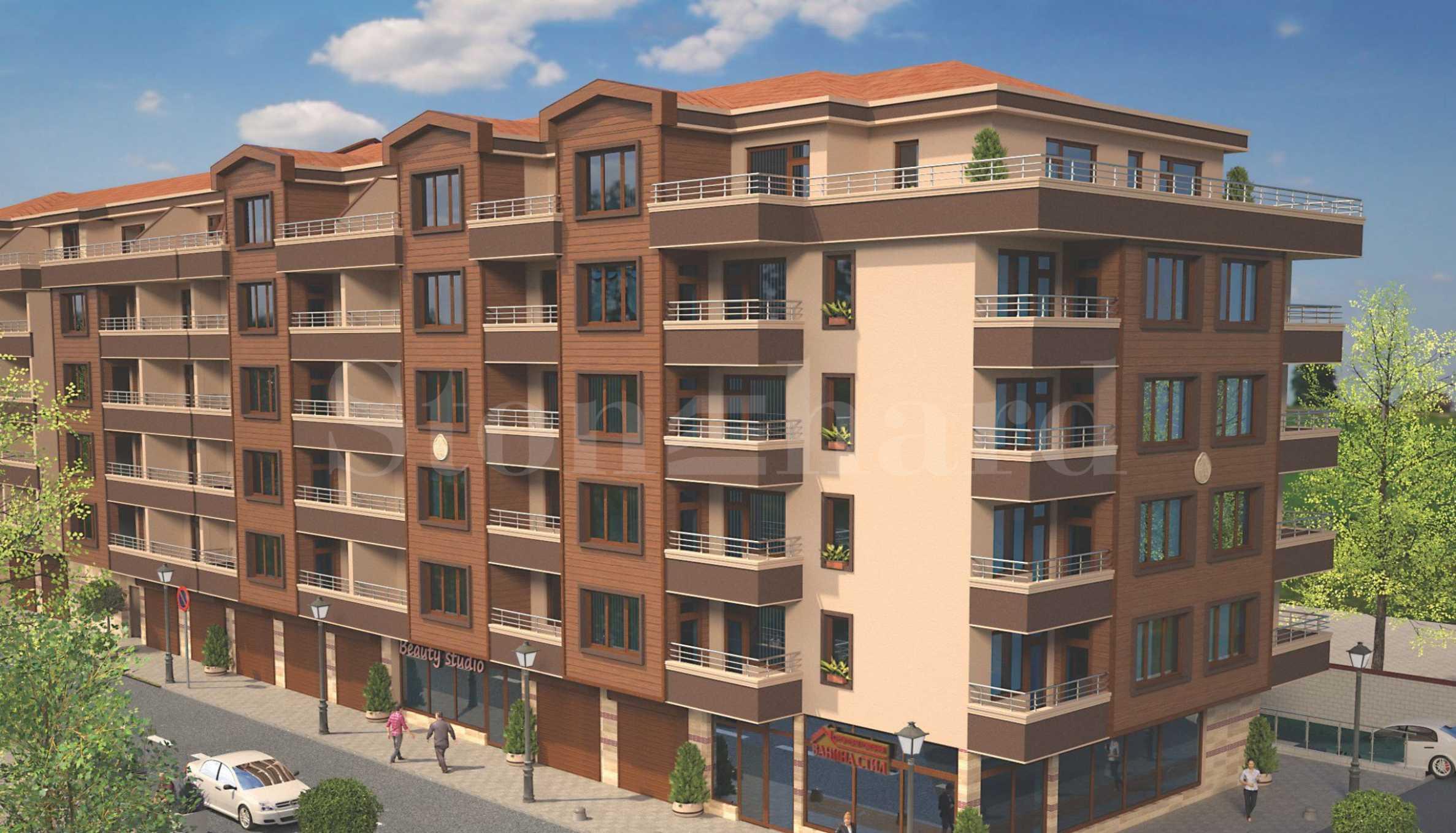 New mixed-use building near Burgas Free University 1 - Stonehard