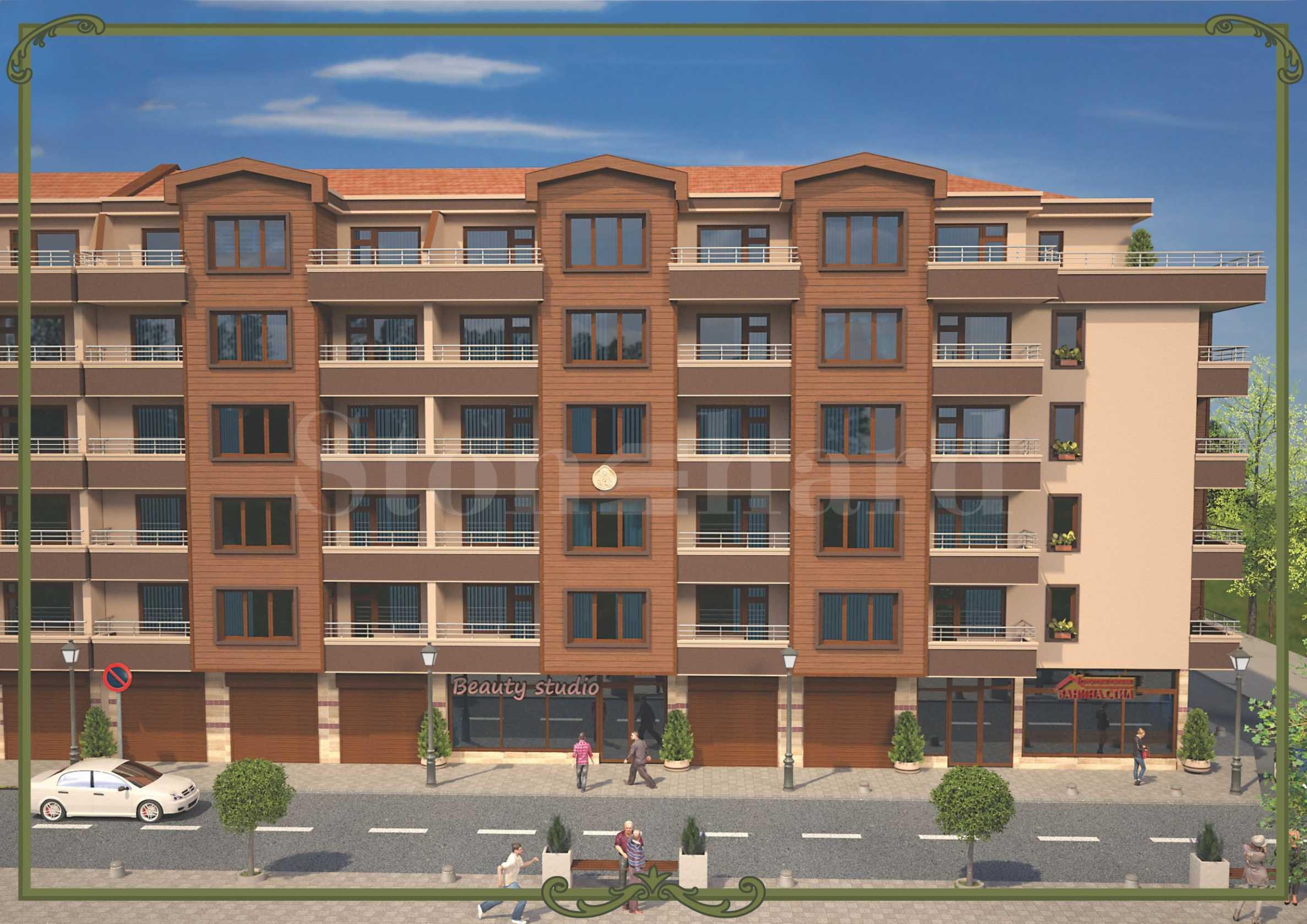 New mixed-use building near Burgas Free University 2 - Stonehard